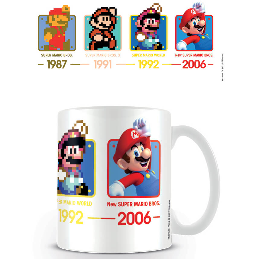 Super Mario Coffee Mug (Dates)