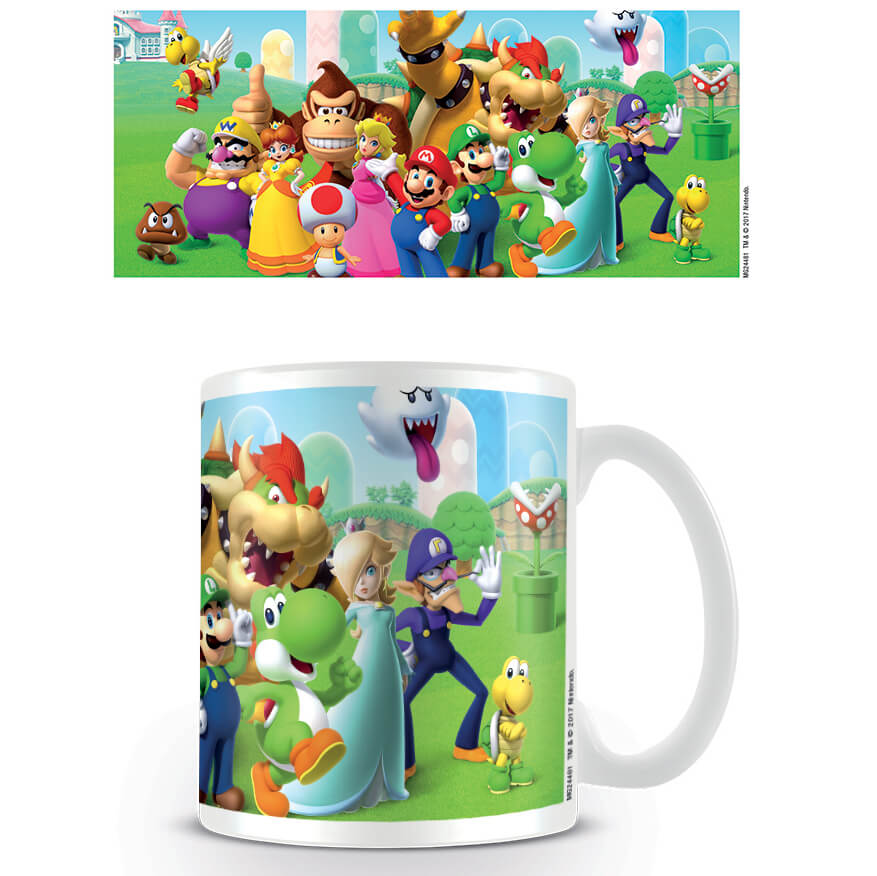 Super Mario Coffee Mug (Mushroom Kingdom)