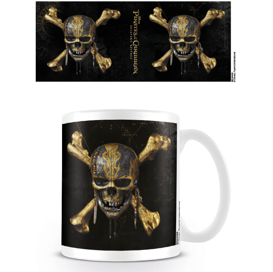 Pirates of the Caribbean Coffee Mug (Skull)