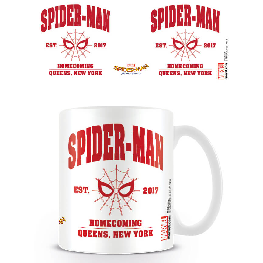 Spider-Man Homecoming Coffee Mug (Est. 2017)