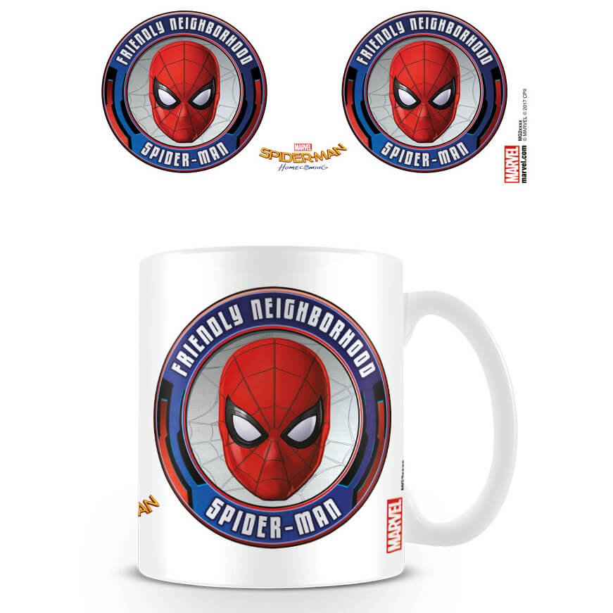 Spider-Man Homecoming Coffee Mug (Friendly)