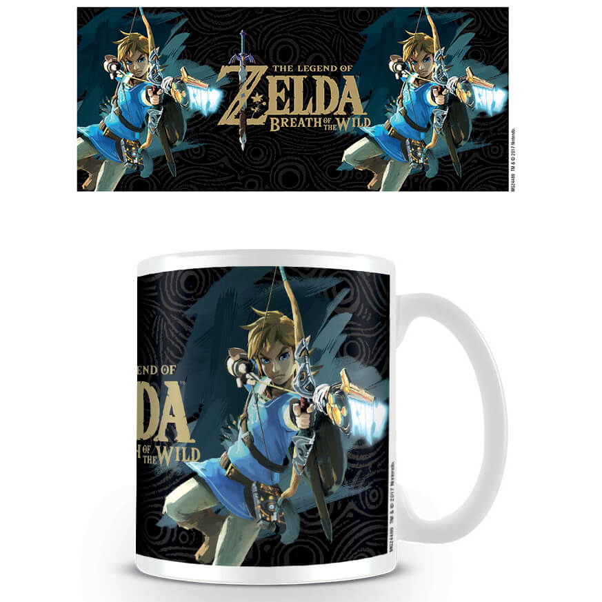 The Legend of Zelda: Breath of the Wild Coffee Mug (Game Cover)
