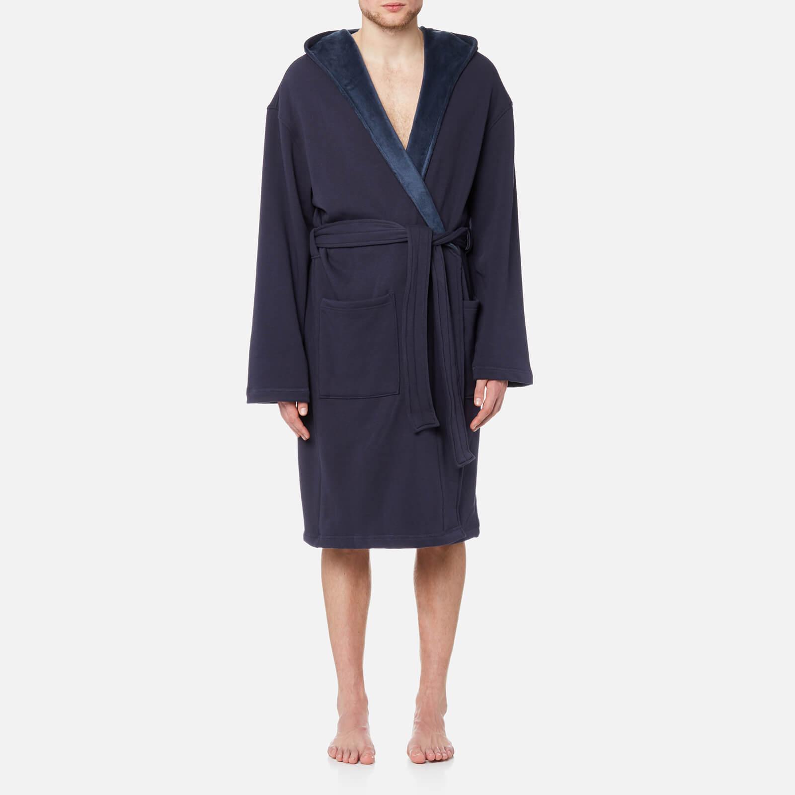 79254d80157 UGG Australia Men's Brunswick Heritage Robe - Navy