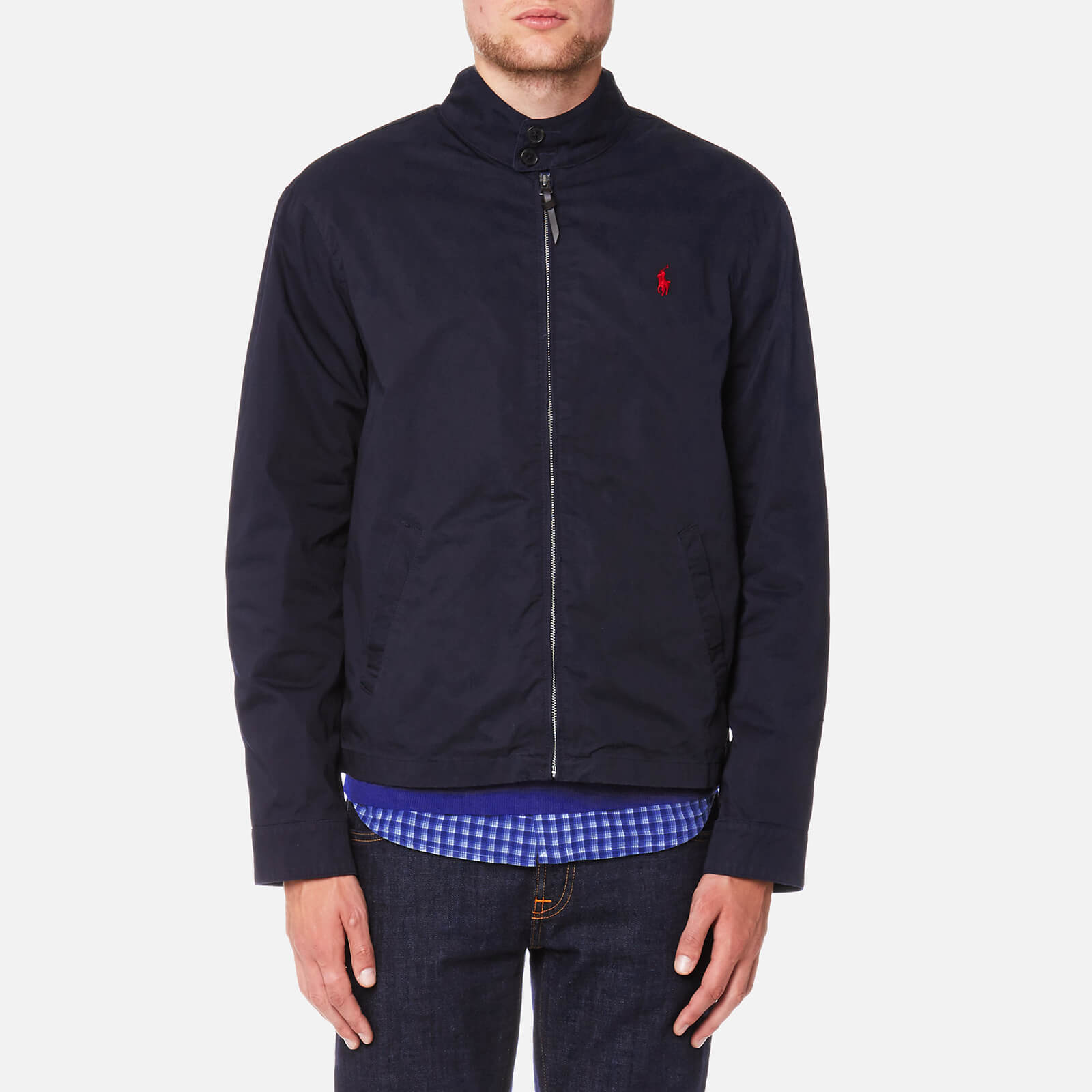 ccd5d82e5901 Polo Ralph Lauren Men s Barracuda Lined Jacket - College Navy - Free UK  Delivery over £50