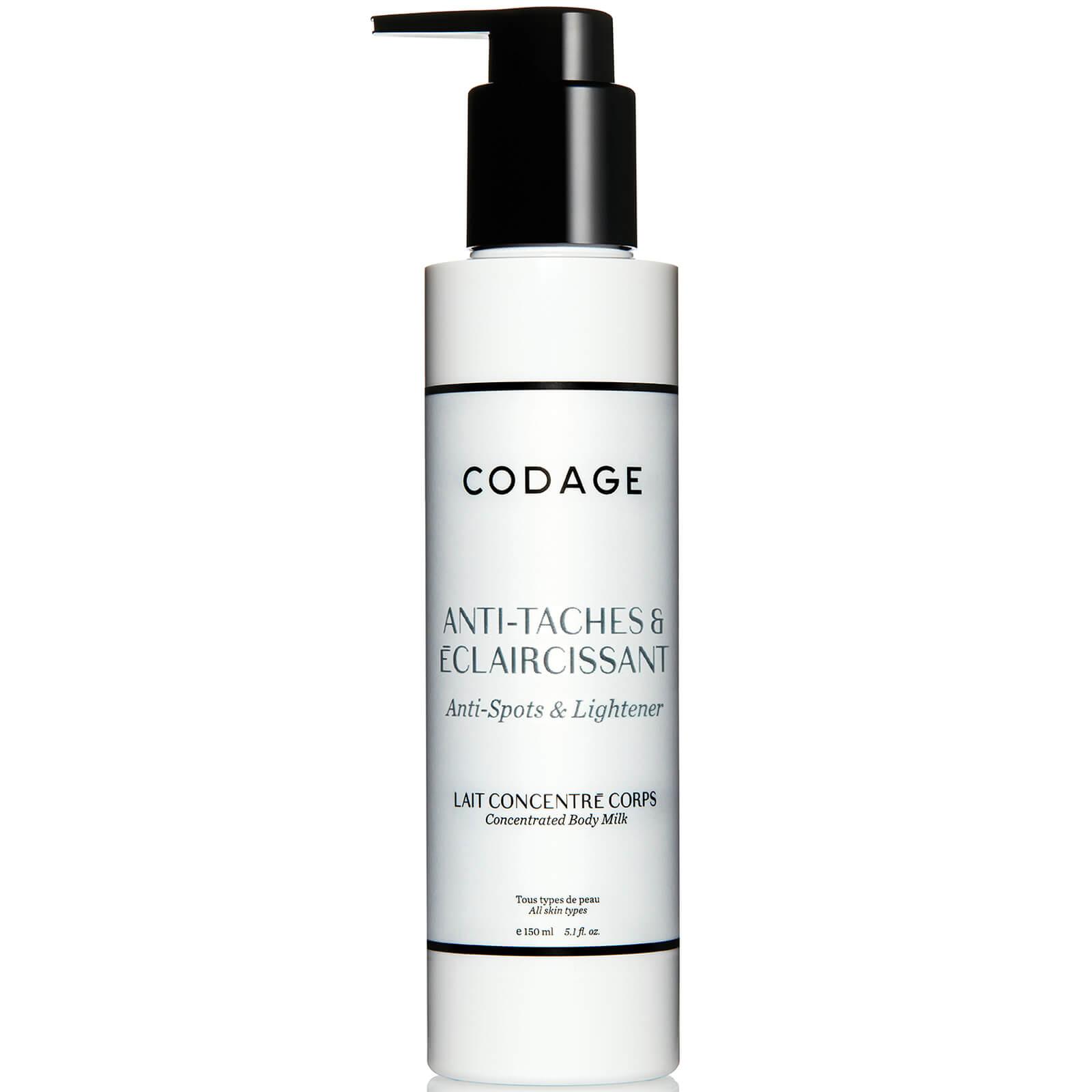 Codage Anti Spot Lightening Concentrated Milk 150ml Beautyexpert Direct For Men Deodorant Body Spray Speed Product Description