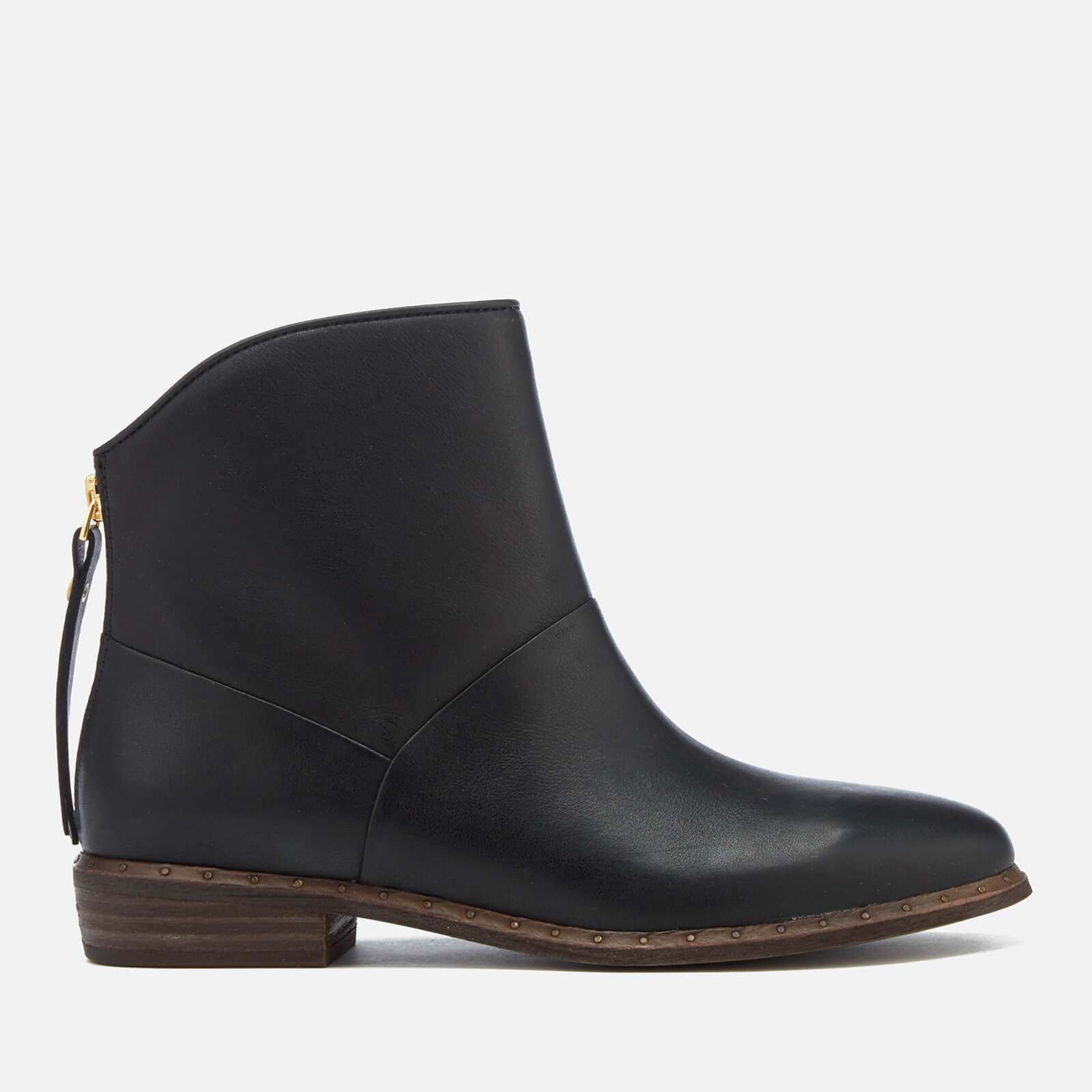 7ab014ad141 UGG Women's Bruno Leather Ankle Boots - Black
