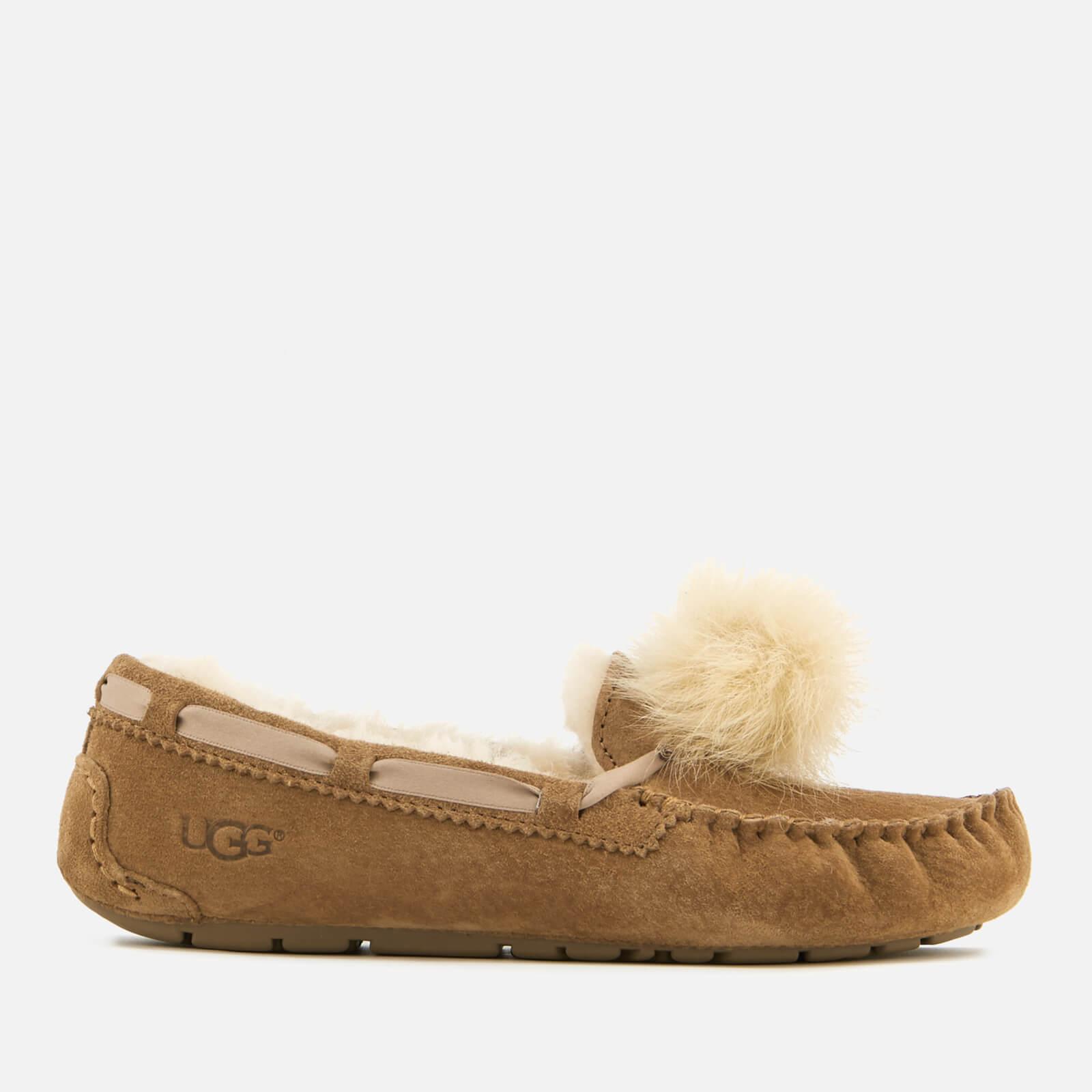 758e719a916 UGG Women's Dakota Moccasin Suede Slippers - Chestnut