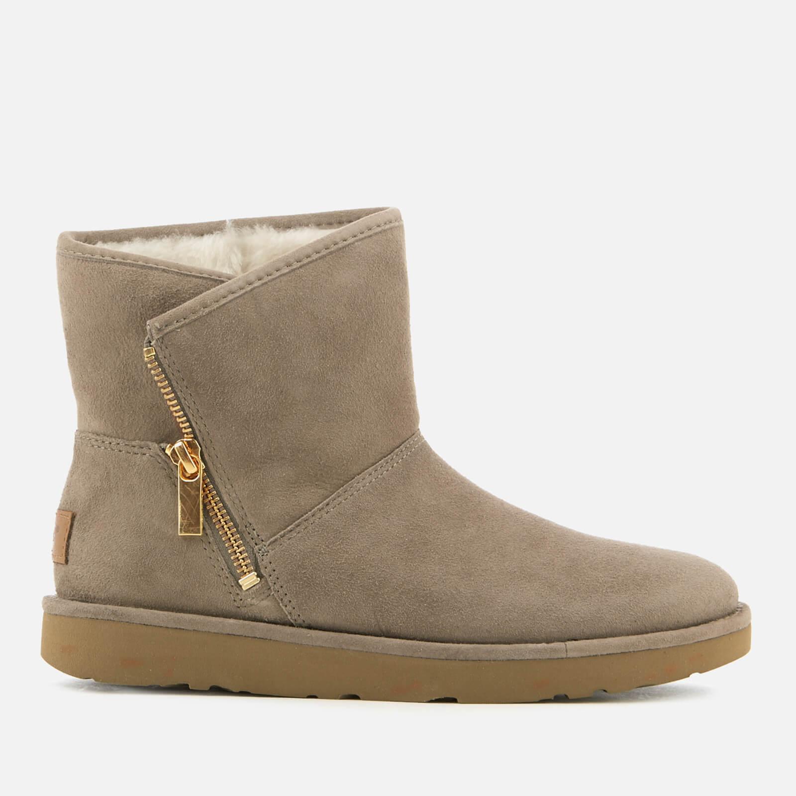 b96f0158b89 UGG Women's Kip Suede Zip Side Boots - Clay