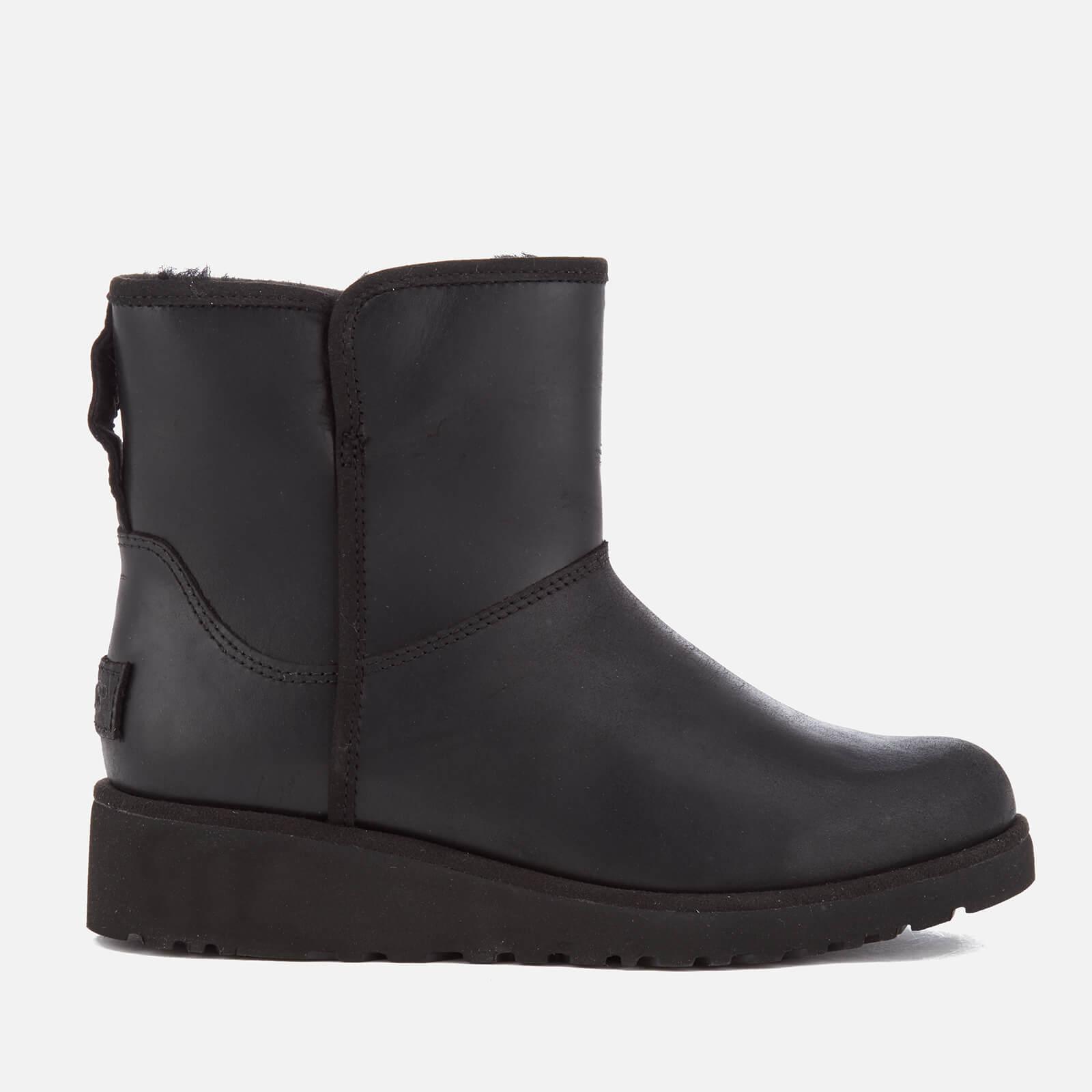 5a2065c626a UGG Women's Kristin Classic Slim Leather Sheepskin Boots - Black
