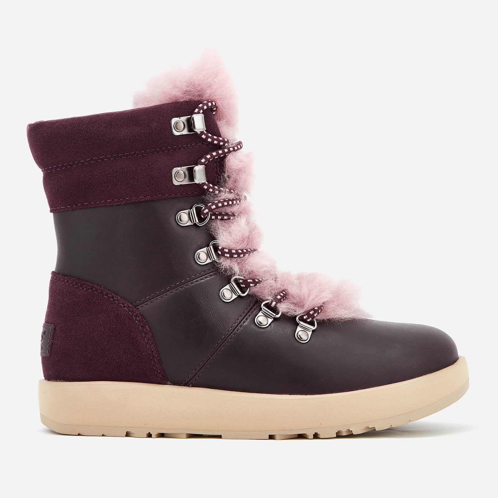 de934f48dcf UGG Women's Viki Waterproof Leather Lace Up Boots - Port