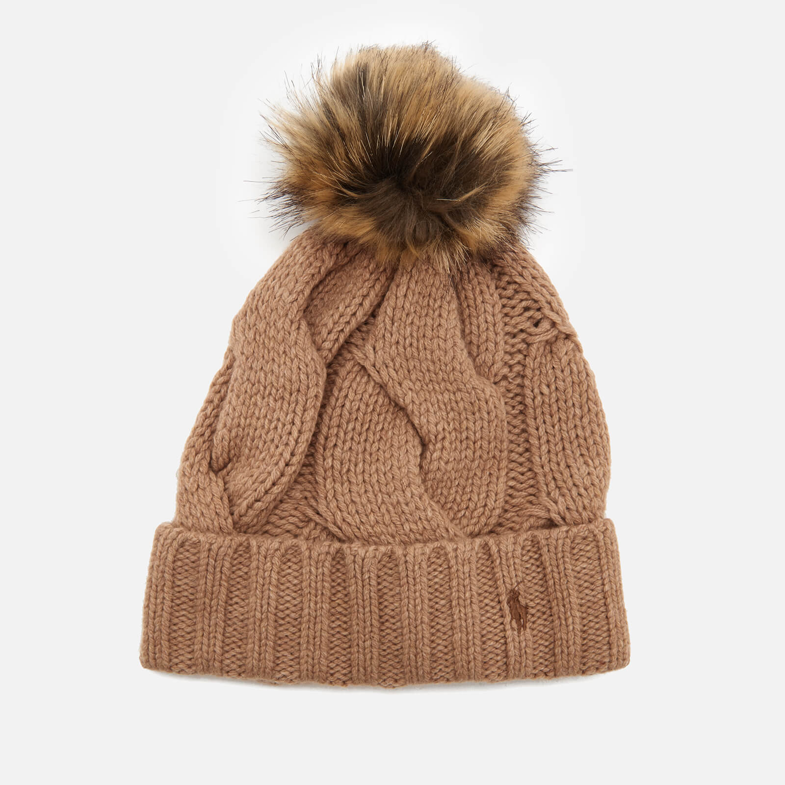 3f3afcae2c66e Polo Ralph Lauren Women s Rope Hat - Camel - Free UK Delivery over £50