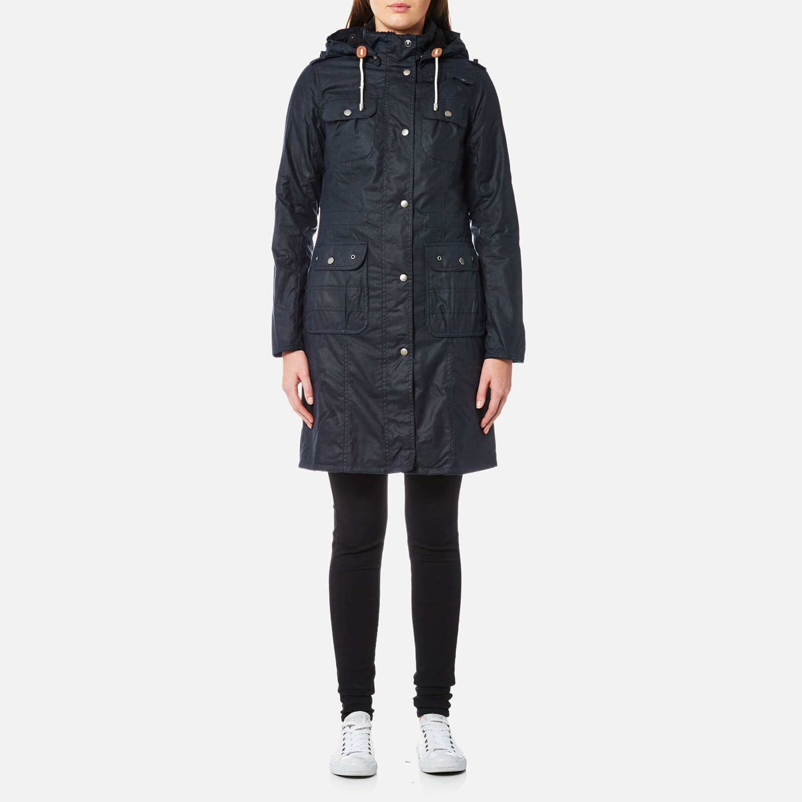 43520696b Barbour Women s Winterton Wax Jacket - Royal Navy Womens Clothing ...