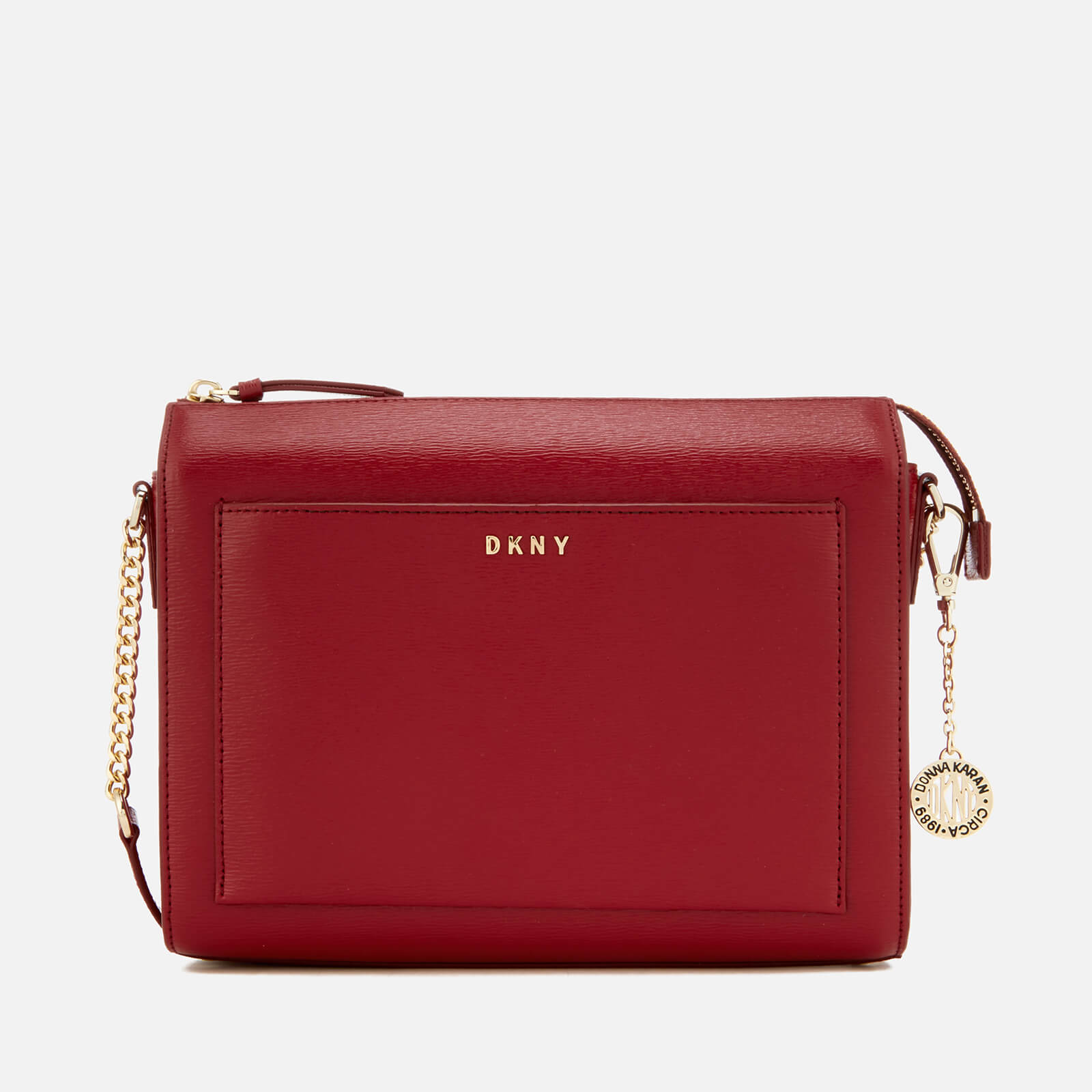 58db98f59d0a DKNY Women s Sutton Medium Box Cross Body Bag - Scarlet Red - Free UK  Delivery over £50