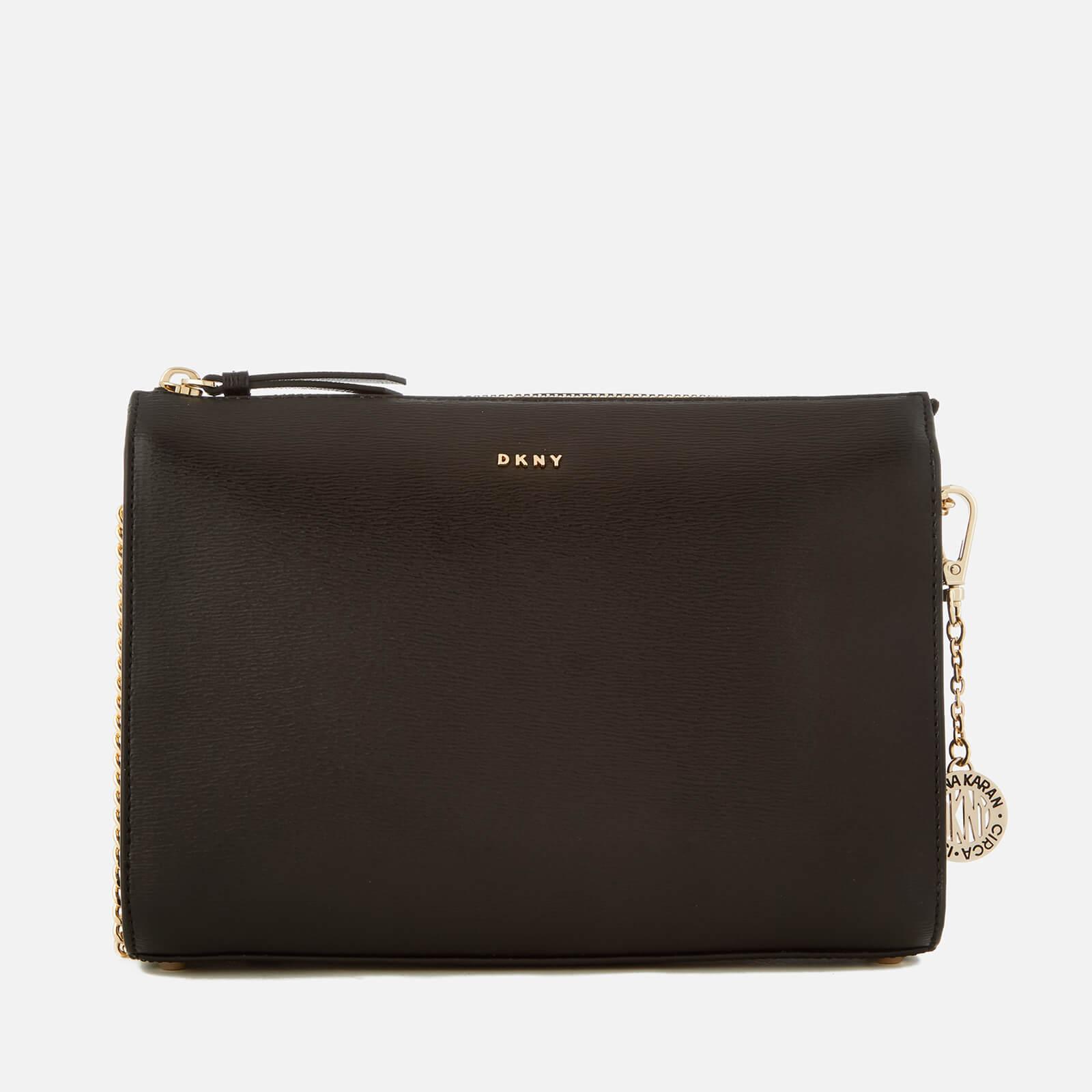 45917cb31c7 DKNY Women s Sutton Small Top Zip Cross Body Bag - Black - Free UK ...