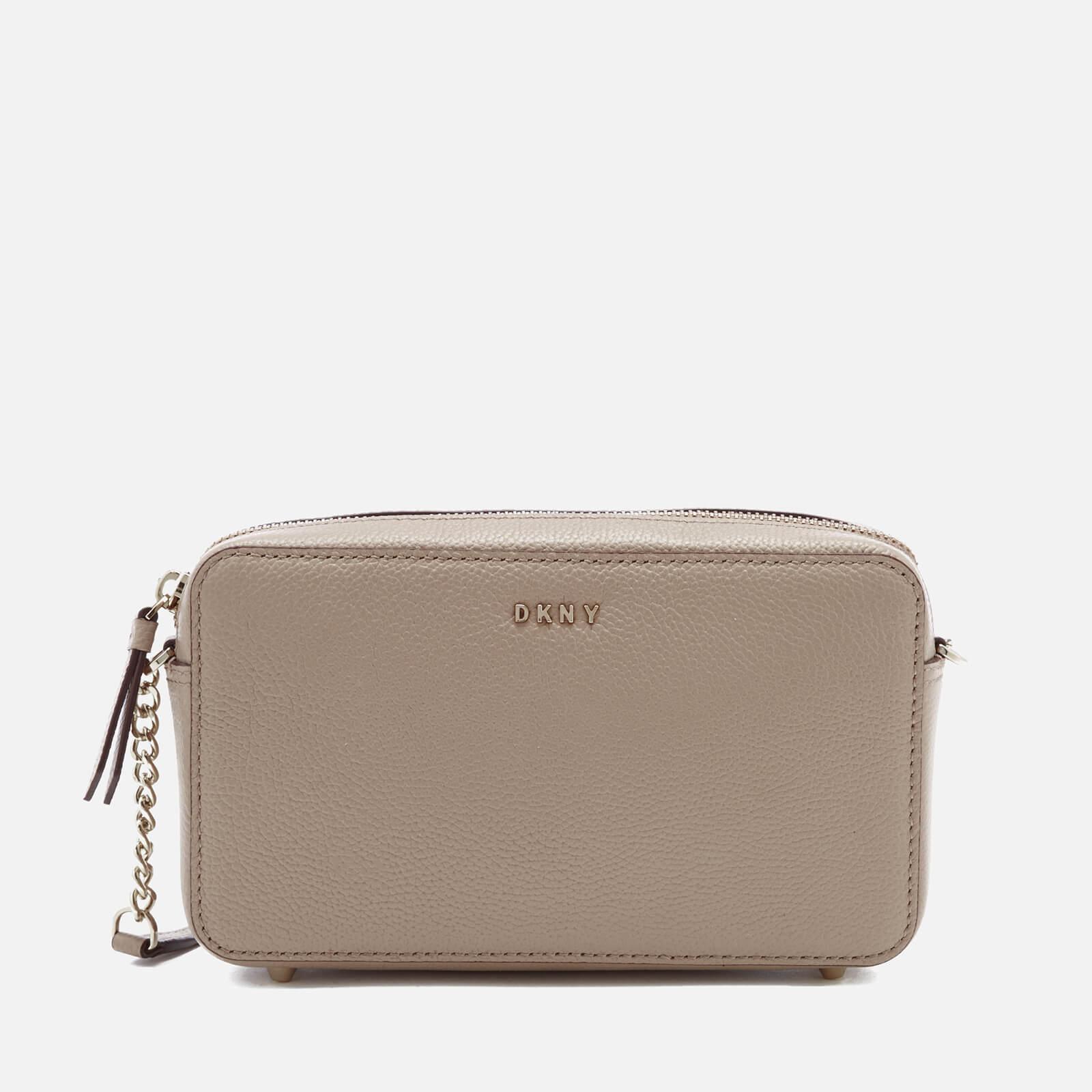 eb3768fc DKNY Women's Chelsea Pebbled Small Leather Top Zip Cross Body Bag - Buff