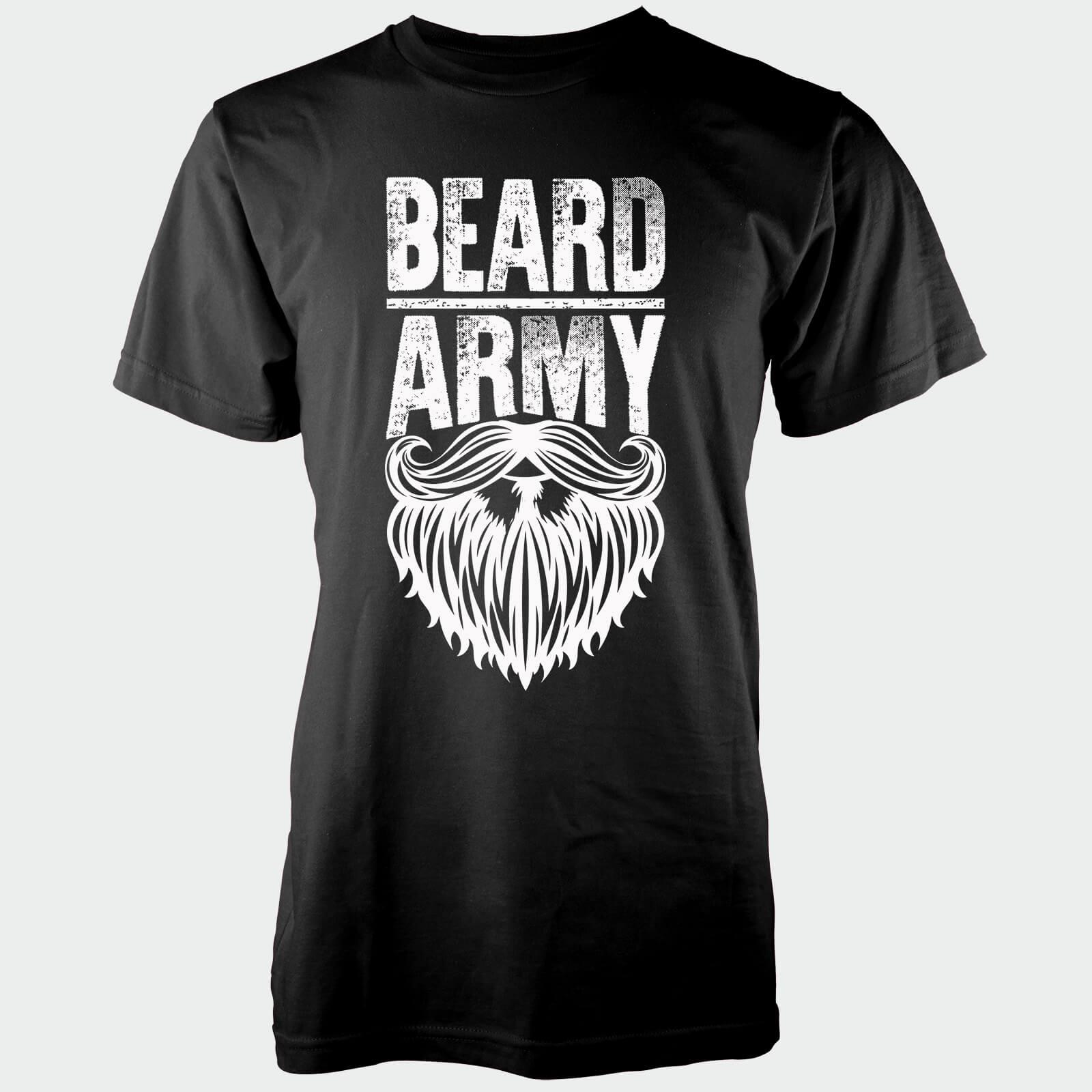 Beard Army Men s Black Insignia T-Shirt  ef99aaf0cd3