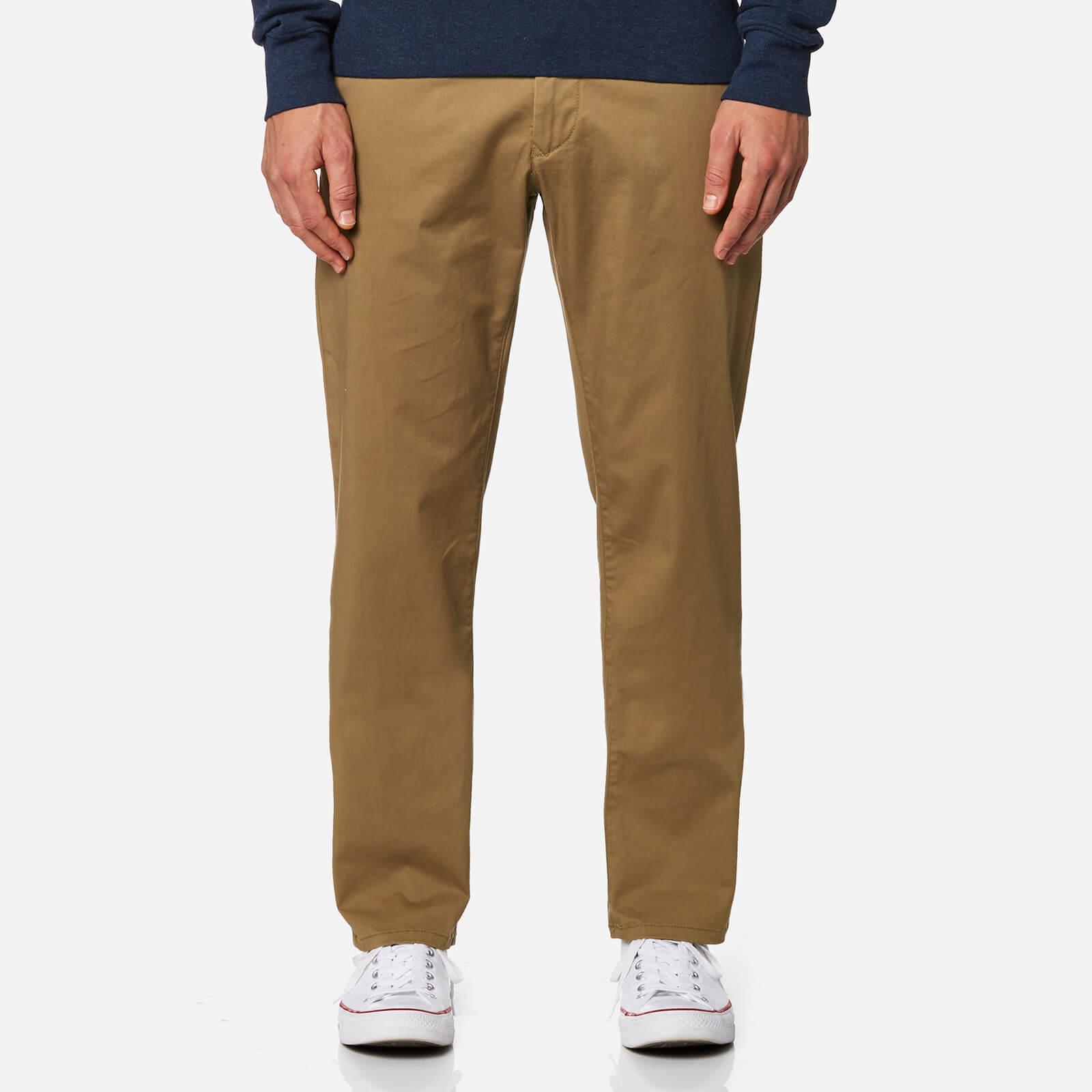 4a5161ac4f343 GANT Men's Regular Twill Chinos - Sepia Khaki Clothing   TheHut.com