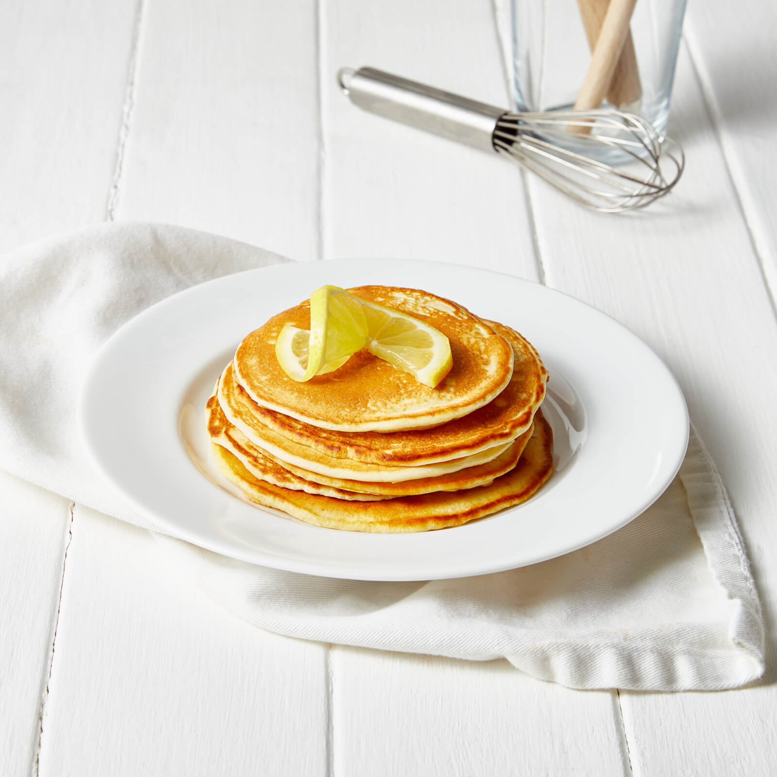 Meal Replacement Lemon Pancakes