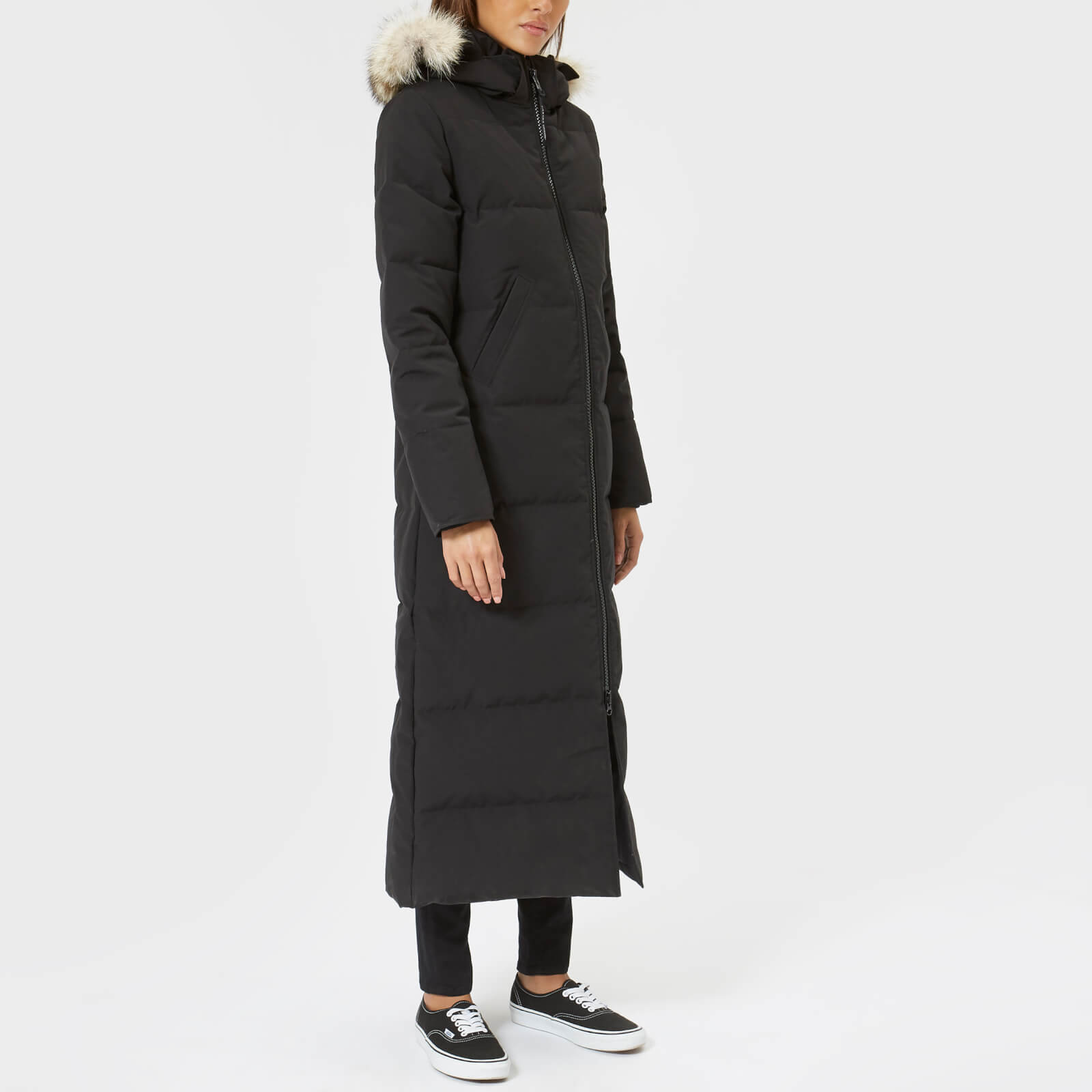 9147acaa5849f Canada Goose Women s Mystique Parka - Black - Free UK Delivery over £50