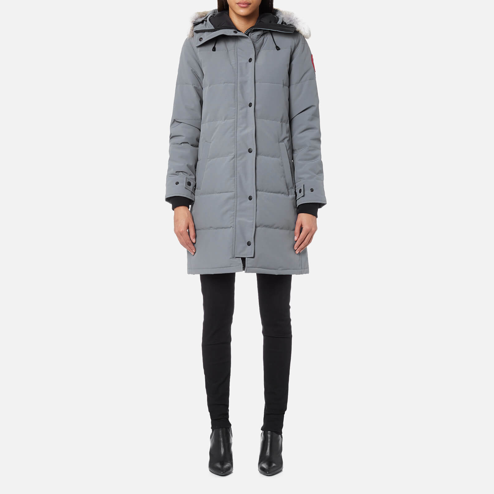 79e153d8a5b4 Canada Goose Women s Shelburne Parka - Mid Grey - Free UK Delivery over £50