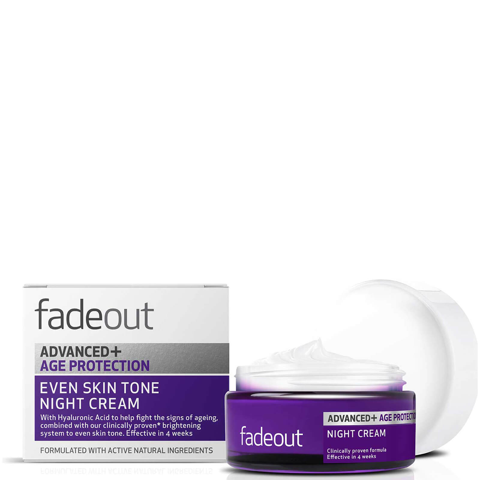 Fade Out ADVANCED + Age Protection Even Skin Tone Night Cream