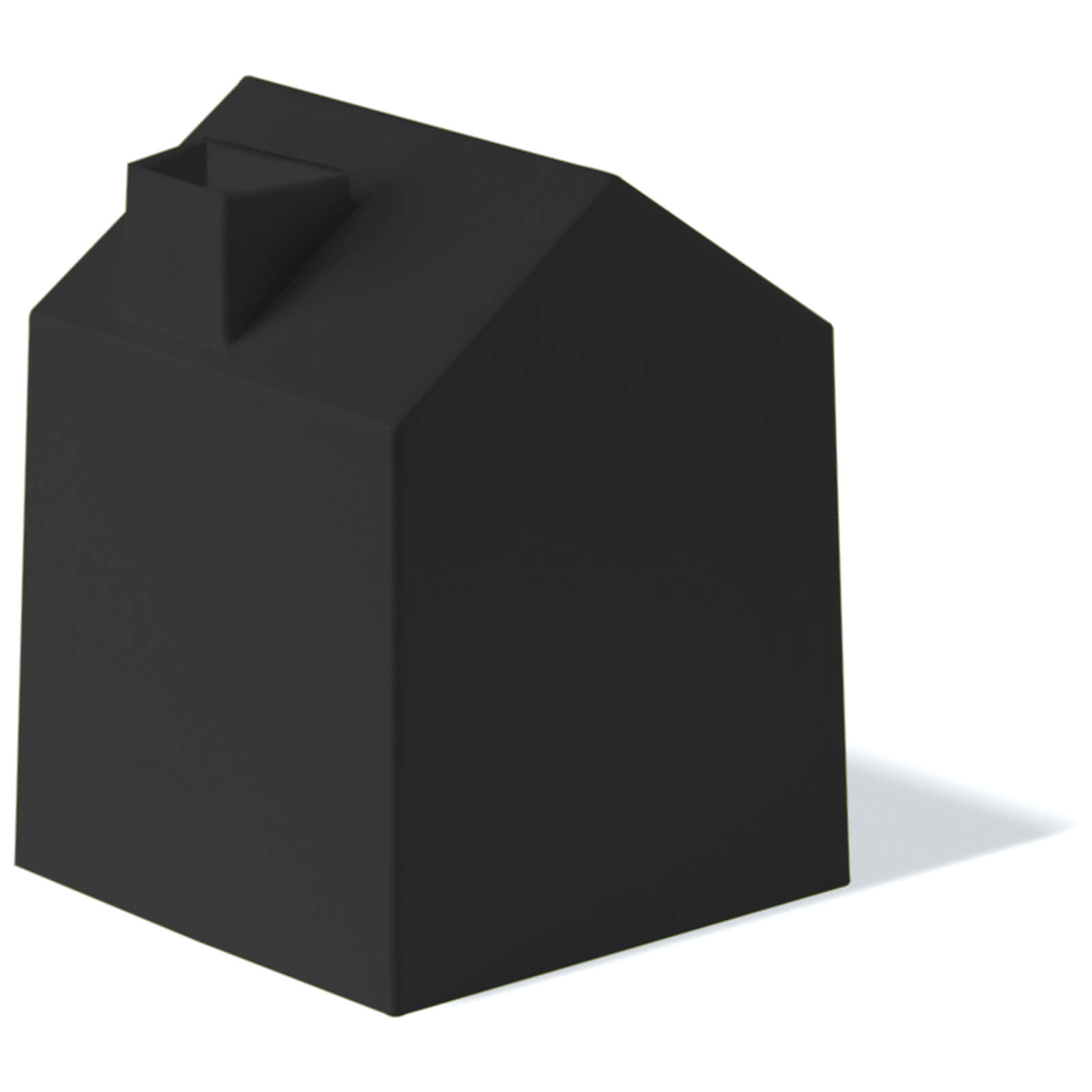 Umbra Casa Tissue Box Cover - Black
