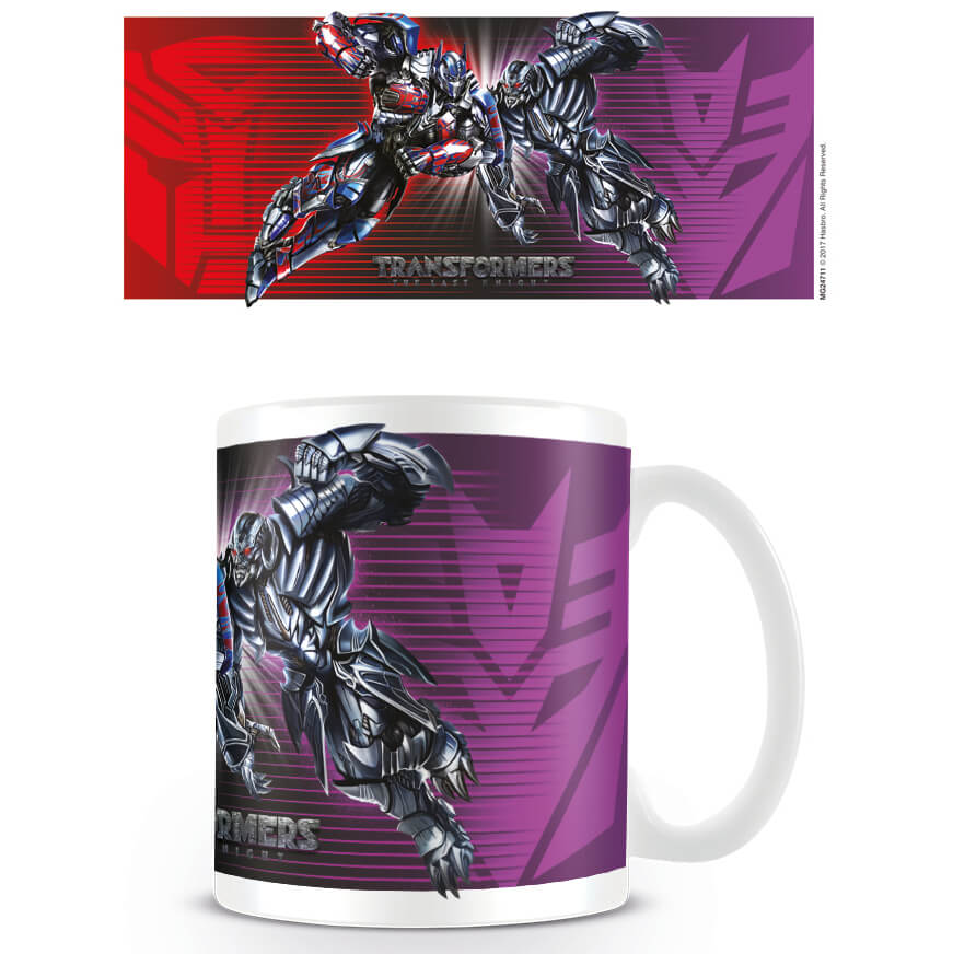 Transformers The Last Knight (Clash) Mug