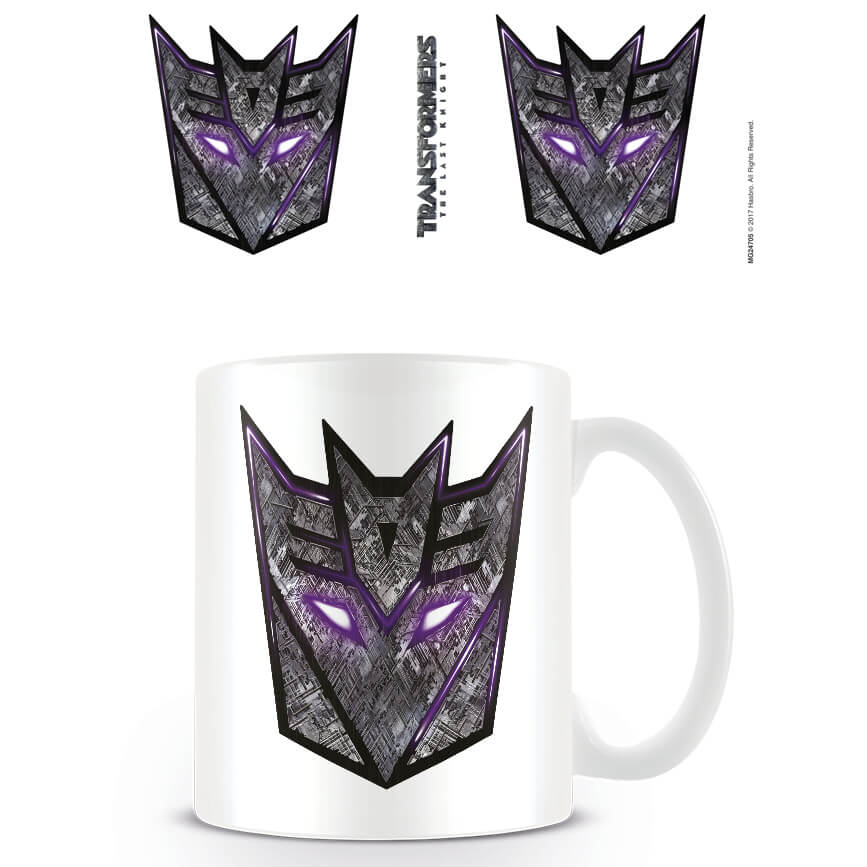 Transformers The Last Knight (Deception Logo) Mug