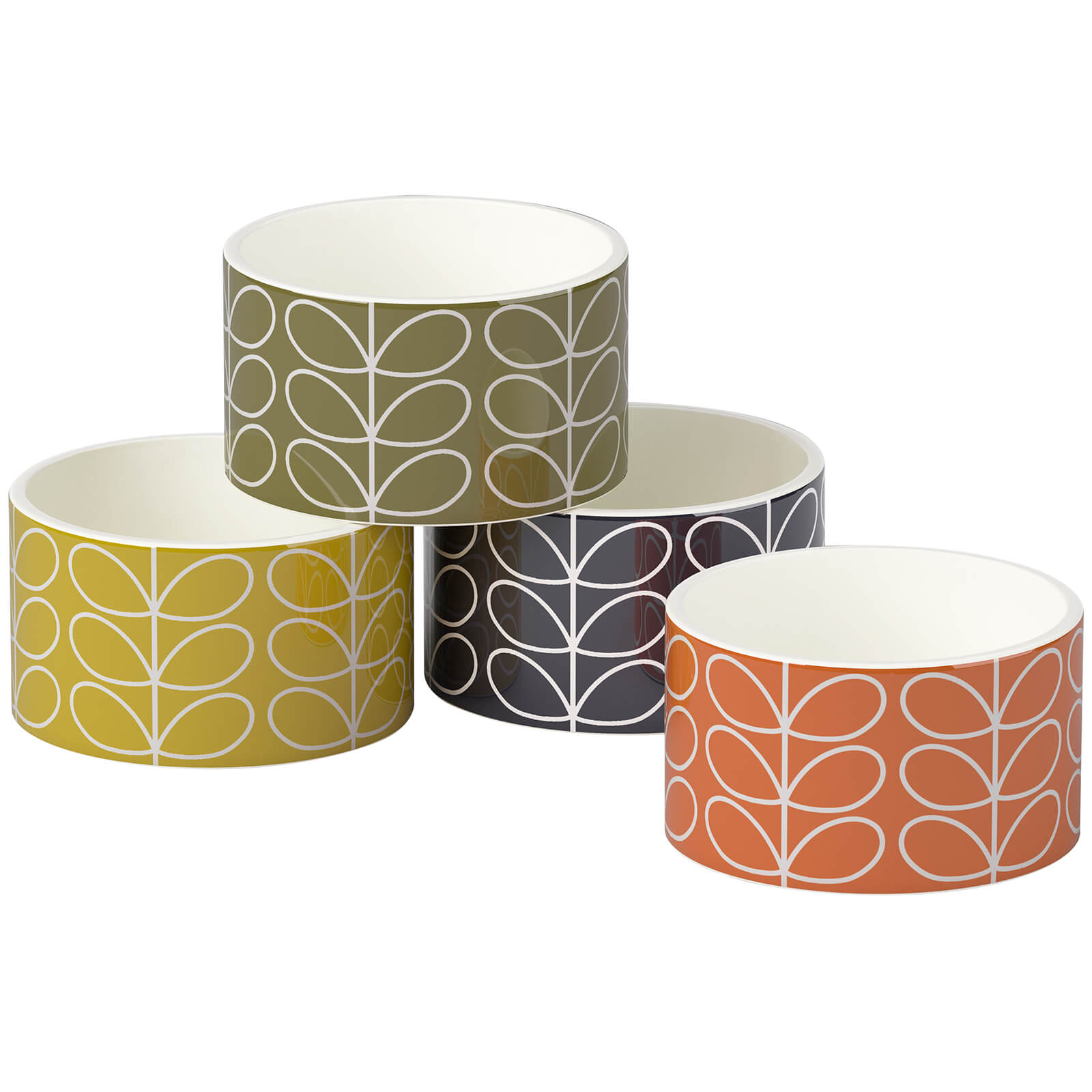Orla Kiely Linear Stem Ramekins - Multi (Set of 4)