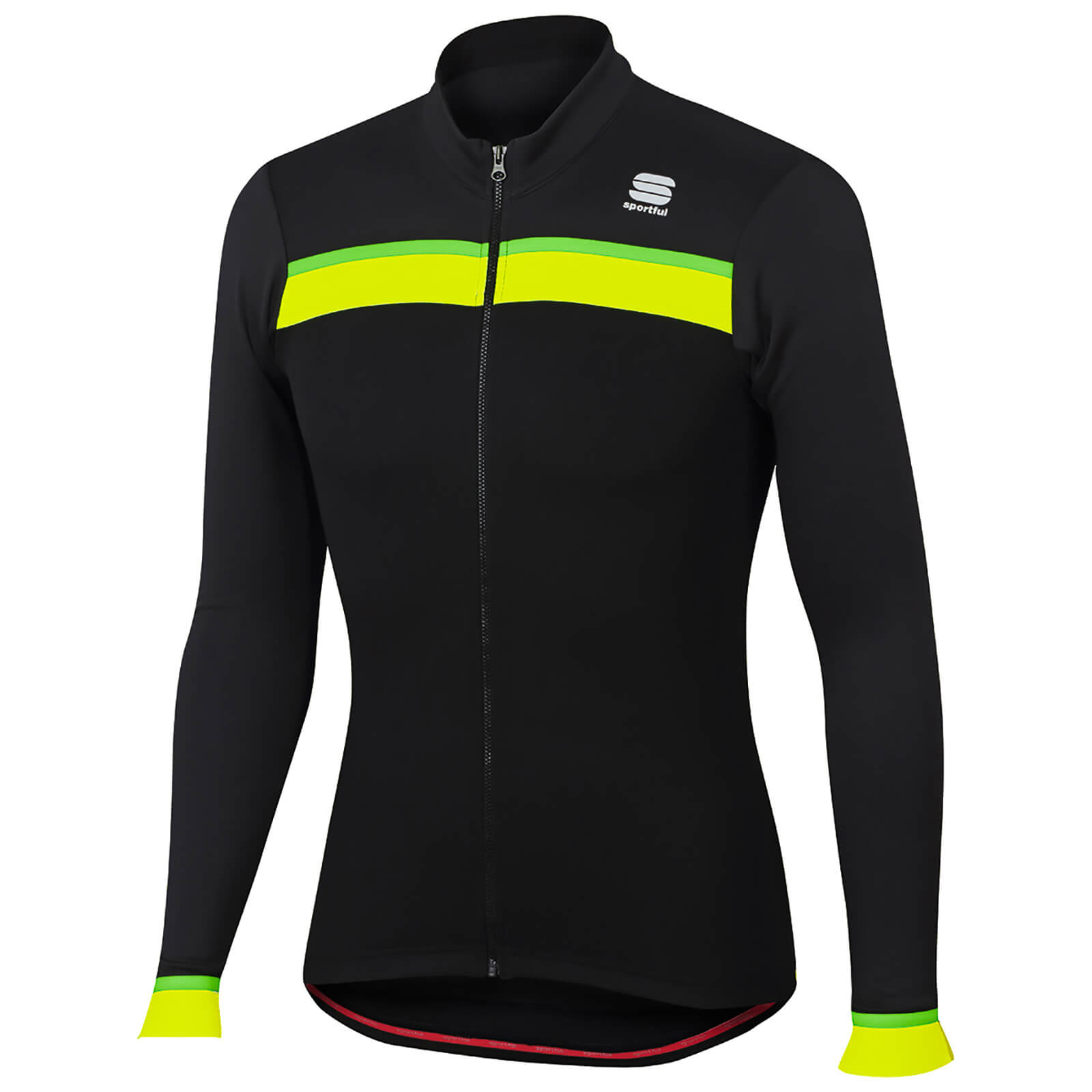 Sportful Pista Thermal Jersey - Black/Anthracite