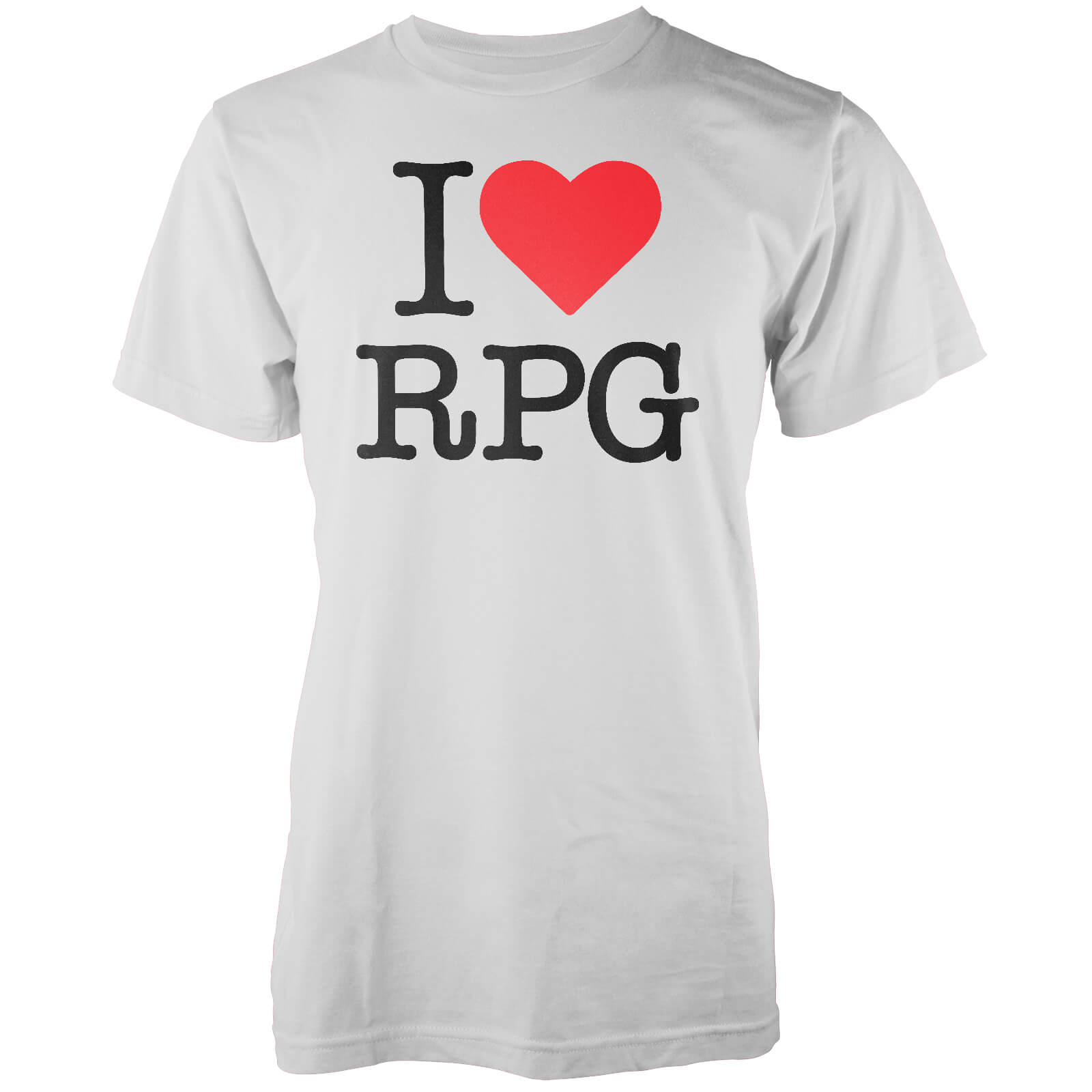 T-Shirt Homme I Love RPG - Blanc