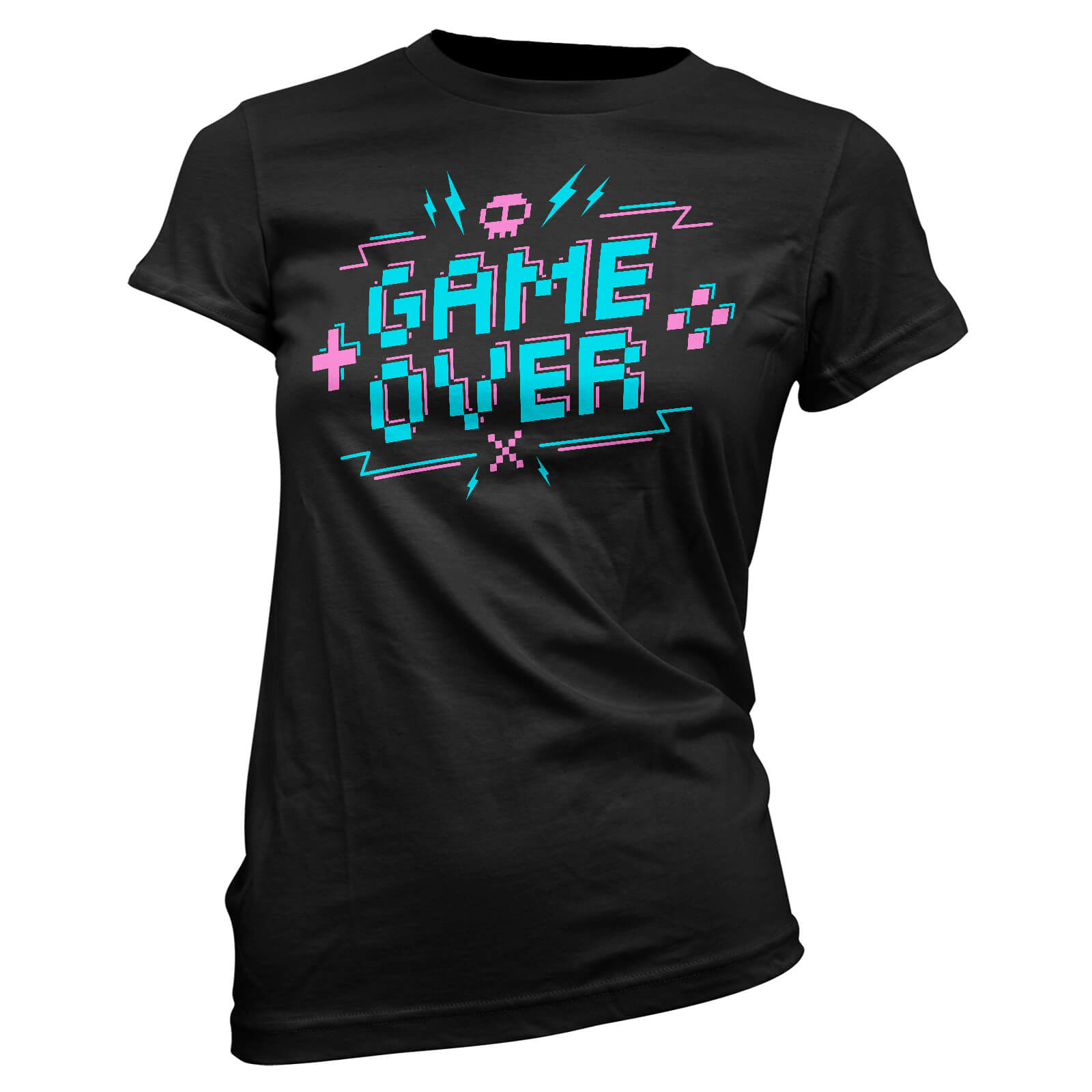 Game Over Pixel Credits Women