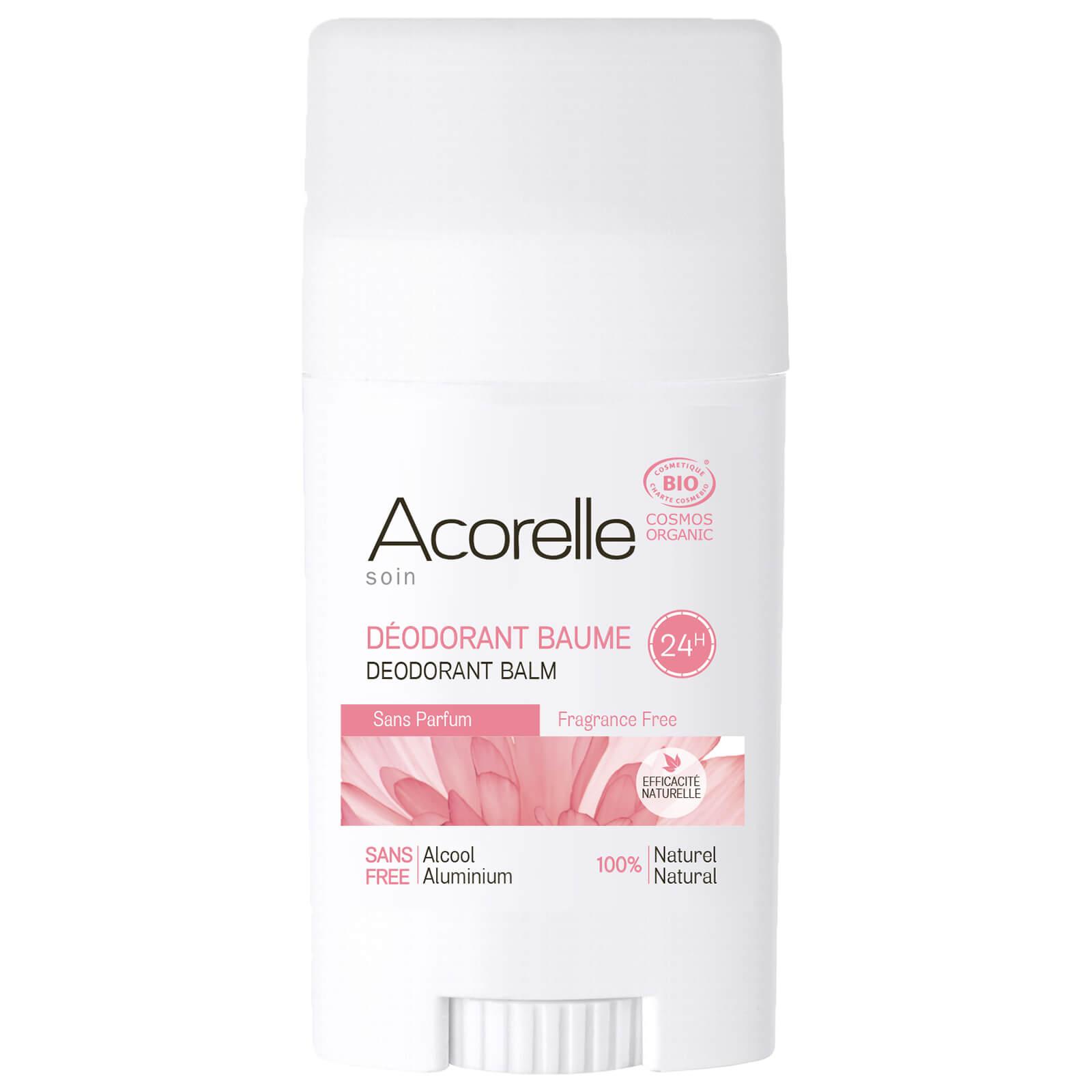 Acorelle Organic Fragrance Free Deodorant Balm 40g   Free Shipping    Lookfantastic a7748b95d67