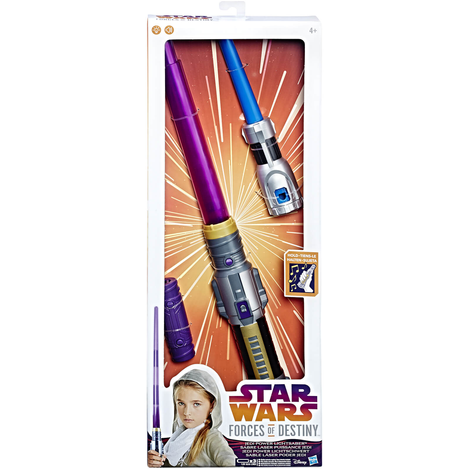 Star Wars Forces of Destiny Feature Lightsaber