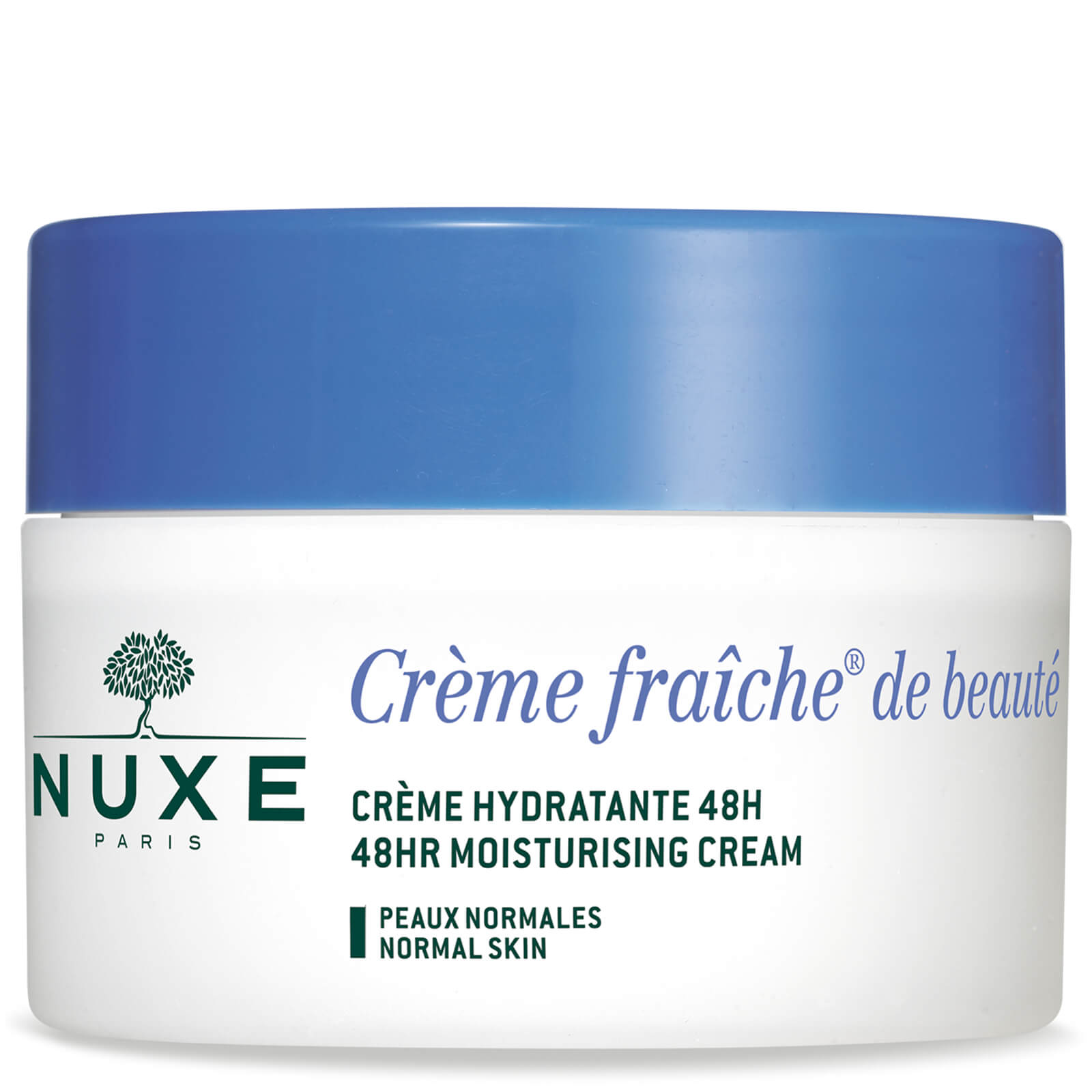 Crema Idratante Nuxe Crème Fraîche De Beauté Per Pelle Normale 50ml