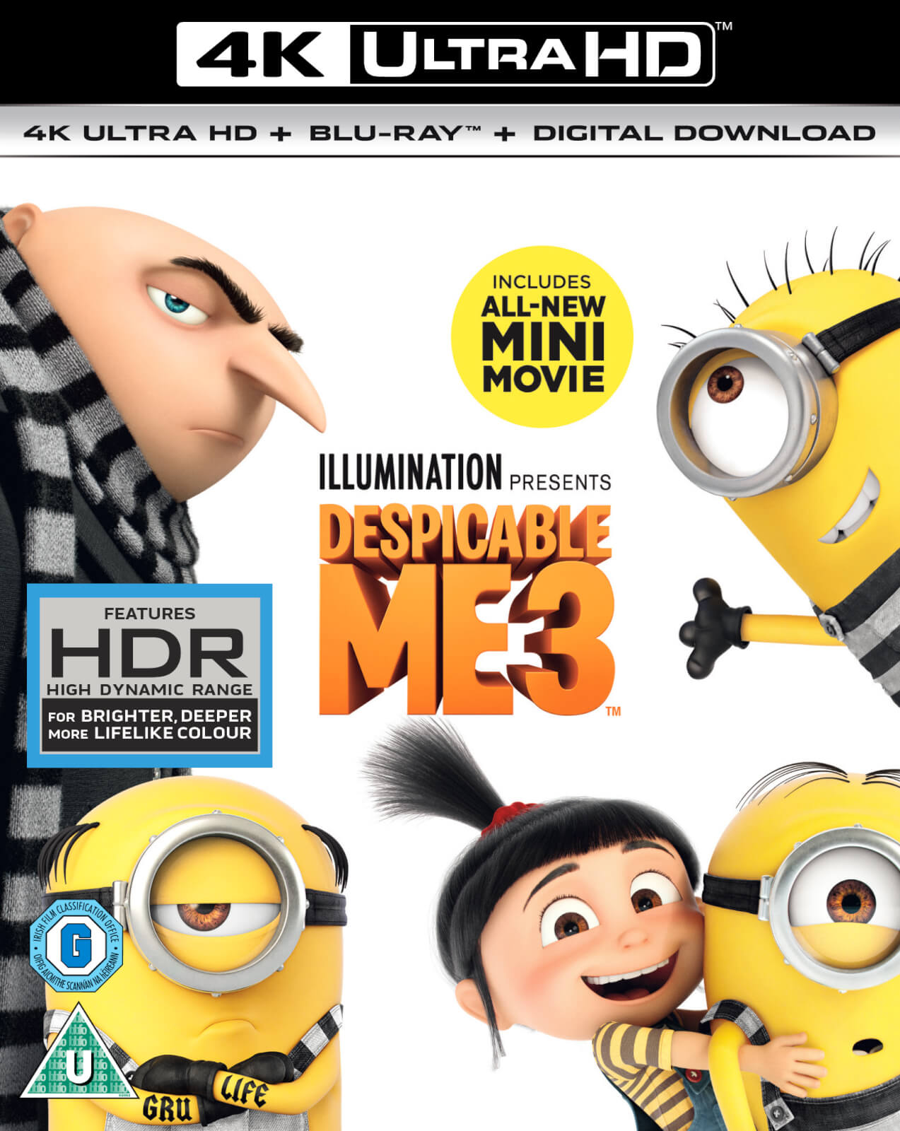 Despicable Me 3 - 4K Ultra HD (Digital Download)