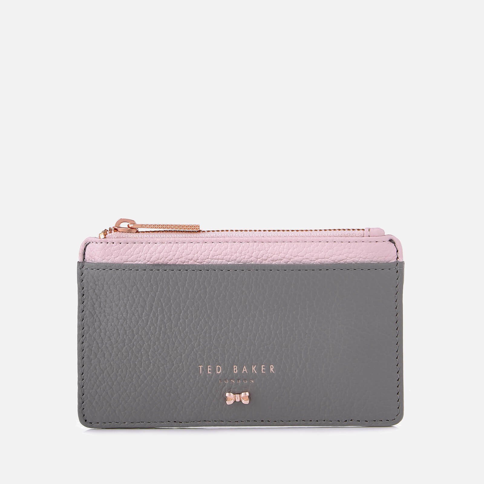 factory price 6f4ab e7d1f Ted Baker Women's Alica Zipped Card Holder - Mid Grey