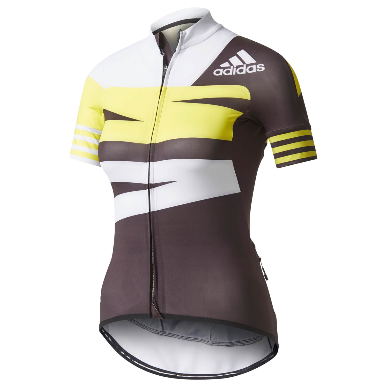 adidas Women s Adistar Jersey - Black Yellow White  e9fcab633