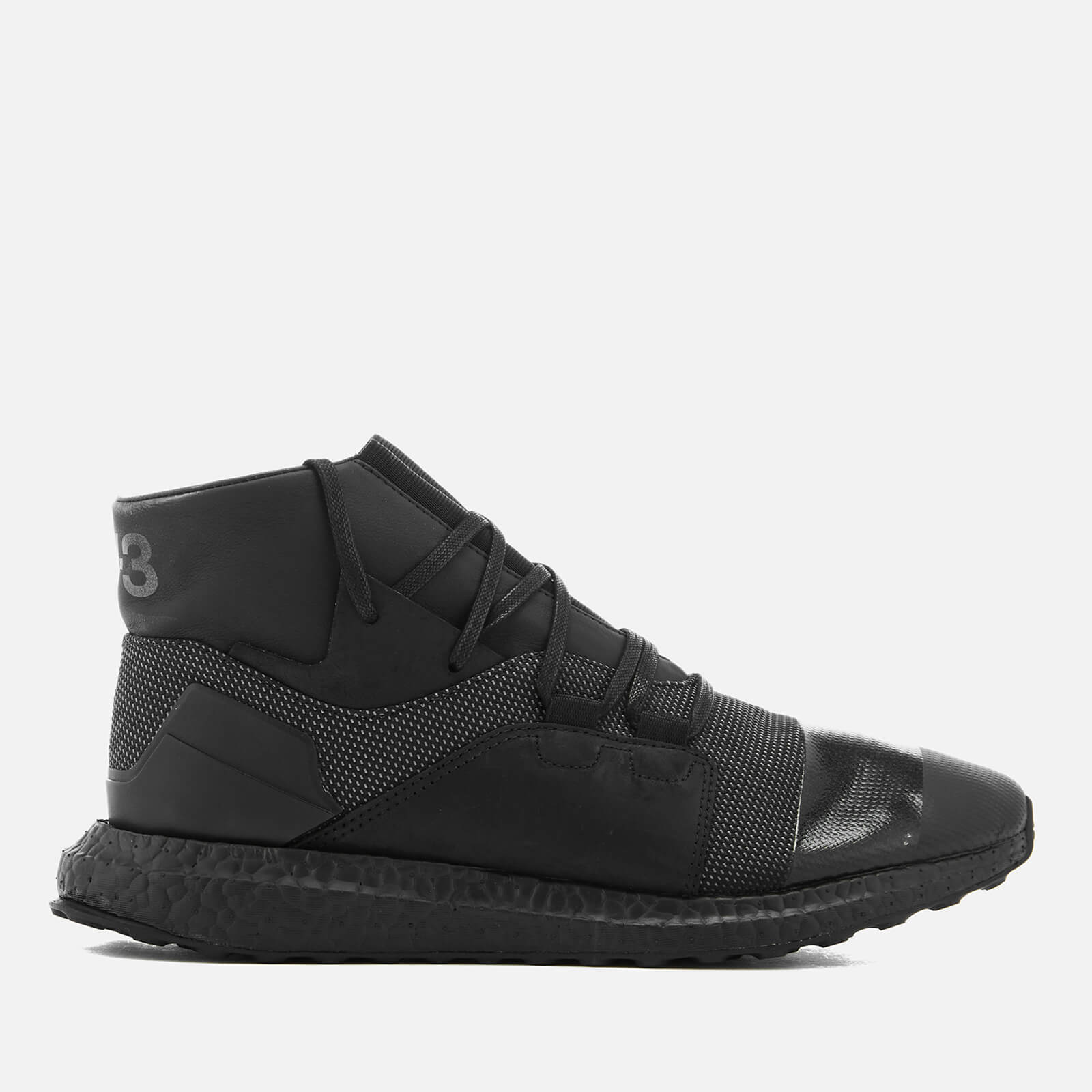 982a5995f Y-3 Men s Kozoko High Sneakers - Core Black Core Black - Free UK Delivery  over £50