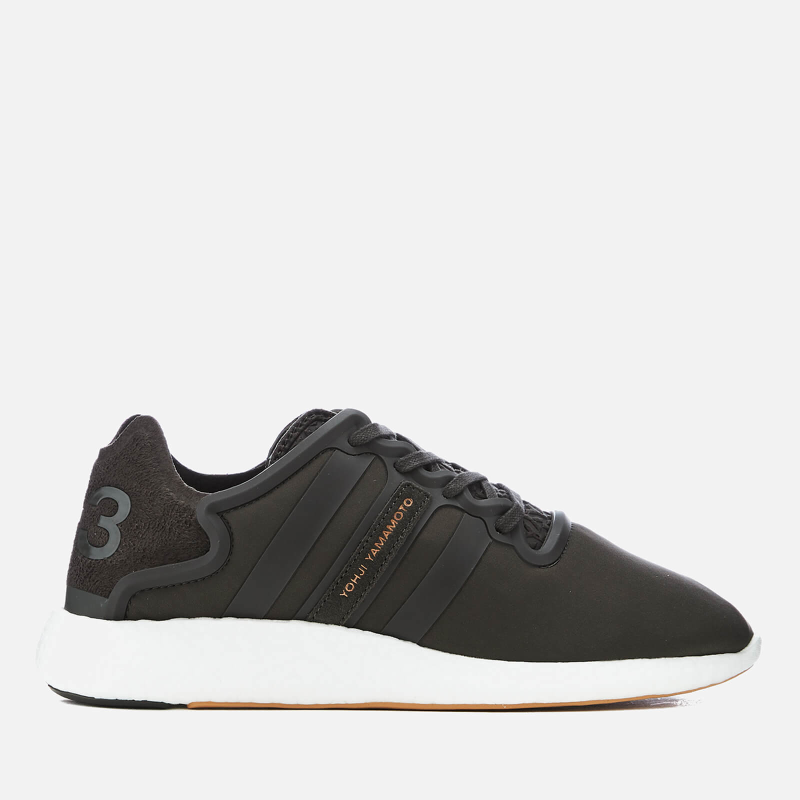 d2916244c8b2c Y-3 Yohji Run Sneakers - Y-3 Black Olive - Free UK Delivery over £50