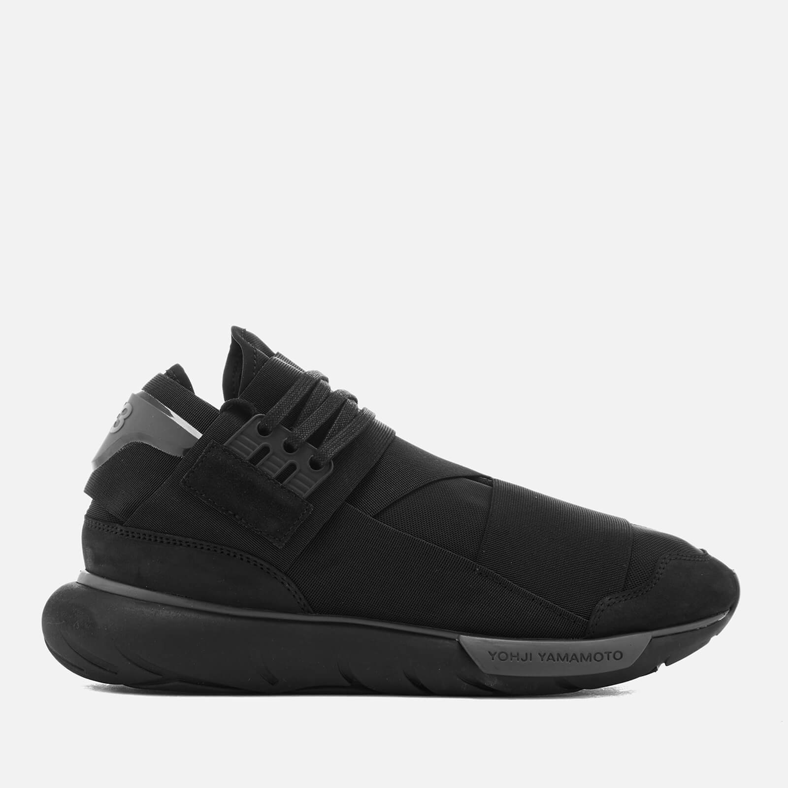 57082224e0749 Y-3 Men s Qasa High Sneakers - Core Black Core Black - Free UK ...