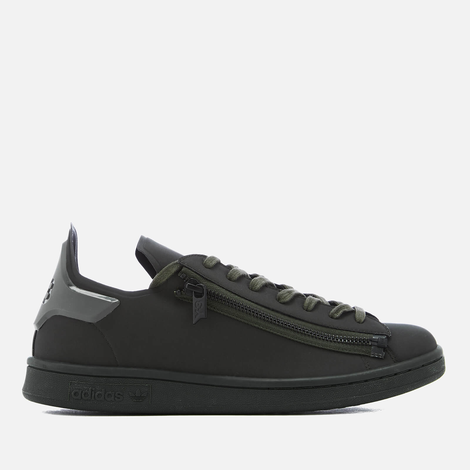 394b766e2 Y-3 Stan Zip Sneakers - Y-3 Black Olive - Free UK Delivery over £50