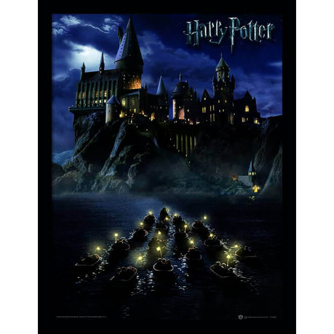 Harry Potter Hogwarts School Framed 30 x 40cm Print