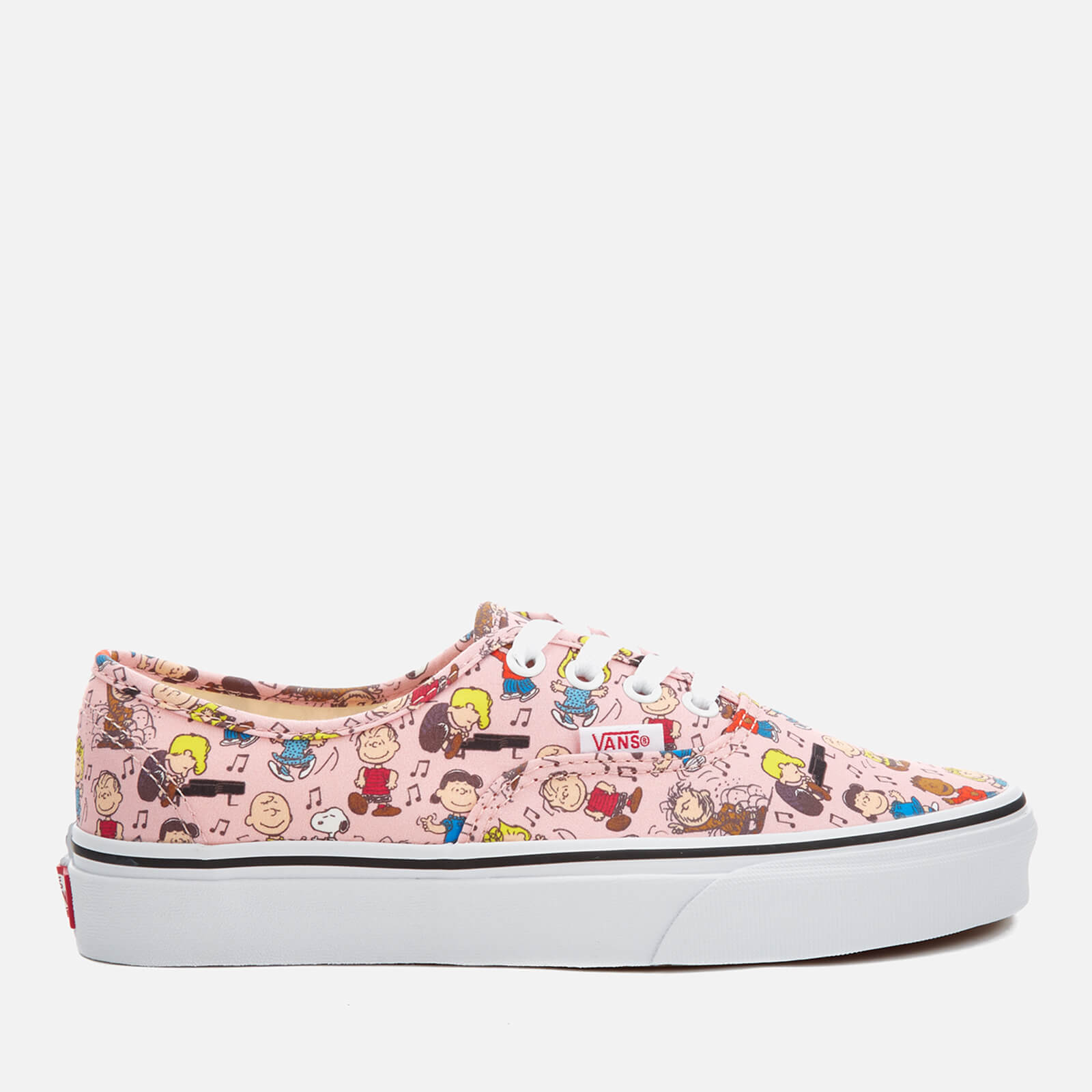 f0bb95f08f89f8 Vans X Peanuts Women s Authentic Trainers - Dance Party Pink Clothing