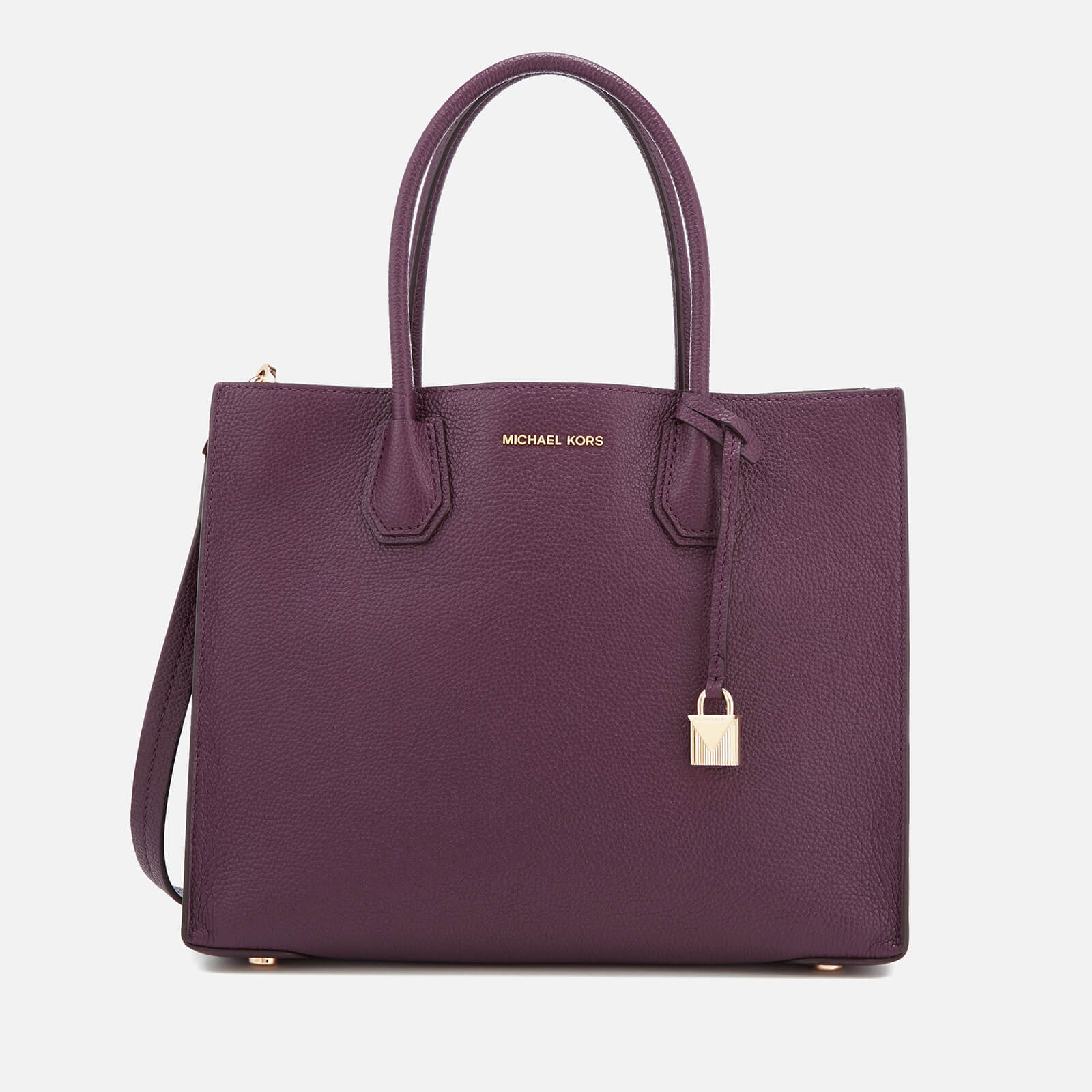 e82a5a735b7f MICHAEL MICHAEL KORS Women's Mercer Large Tote Bag - Damson - Free UK  Delivery over £50