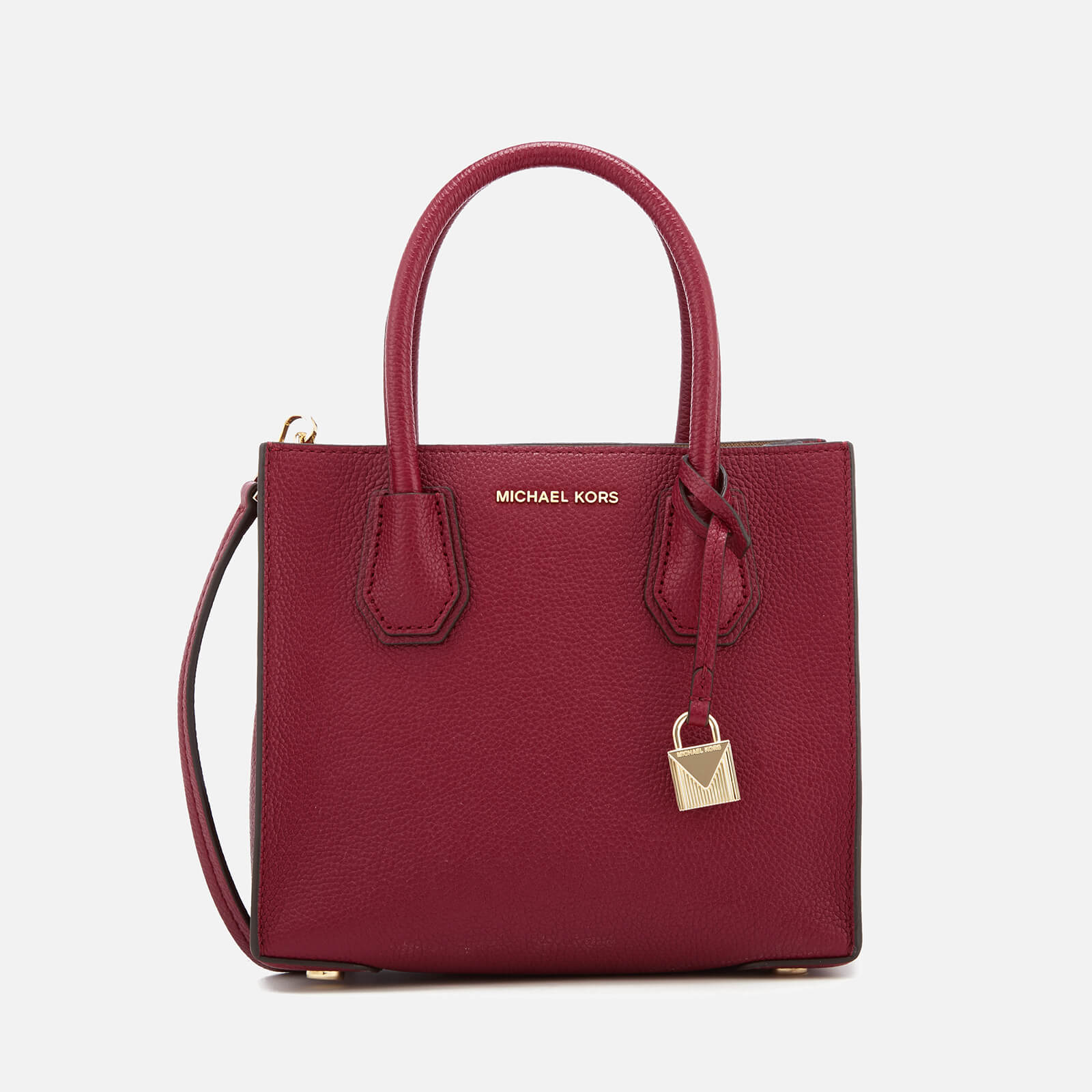 9a77f4431517 MICHAEL MICHAEL KORS Women's Mercer Medium Tote Bag - Mulberry - Free UK  Delivery over £50