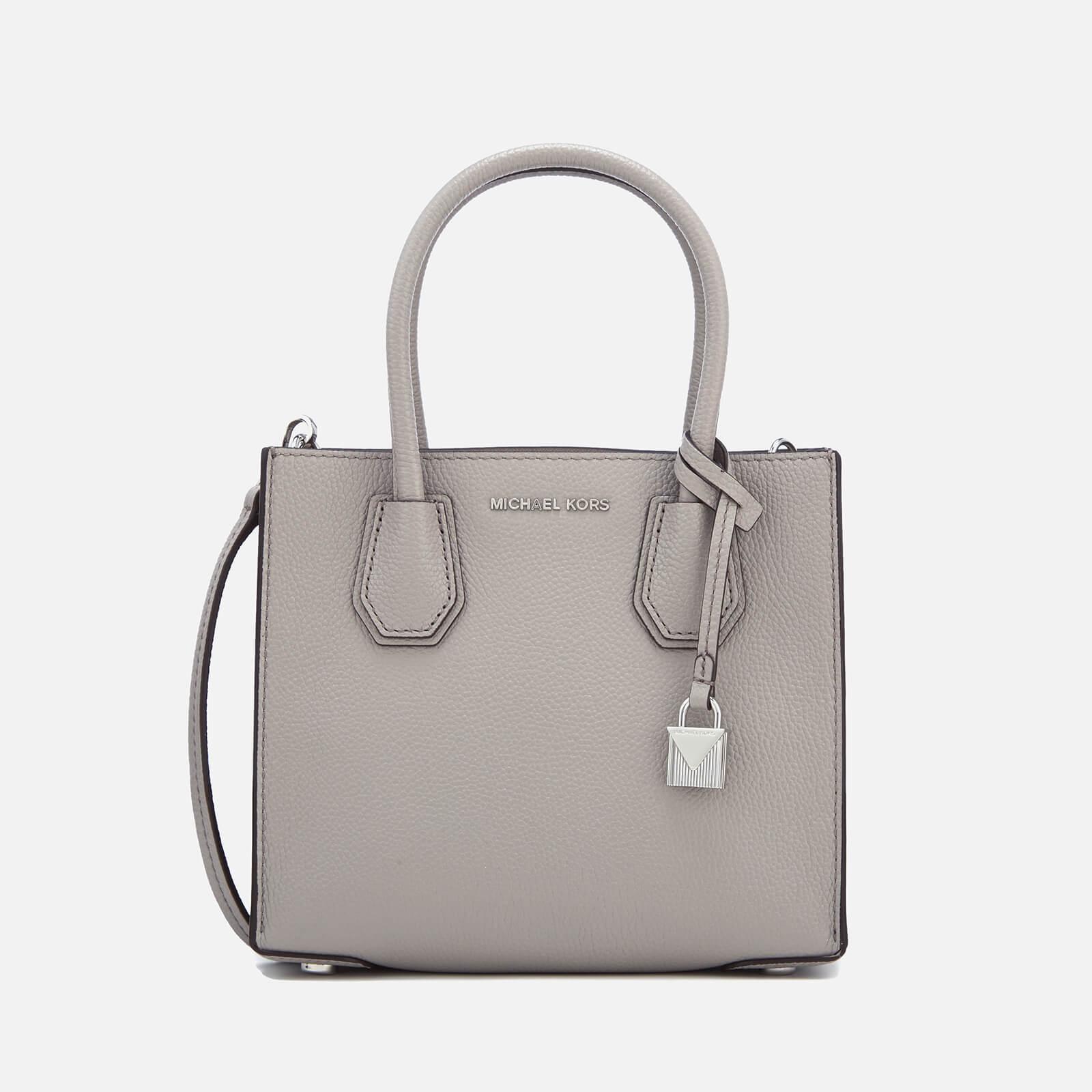 052aa15be485 MICHAEL MICHAEL KORS Women's Mercer Medium Tote Bag - Pearl Grey - Free UK  Delivery over £50