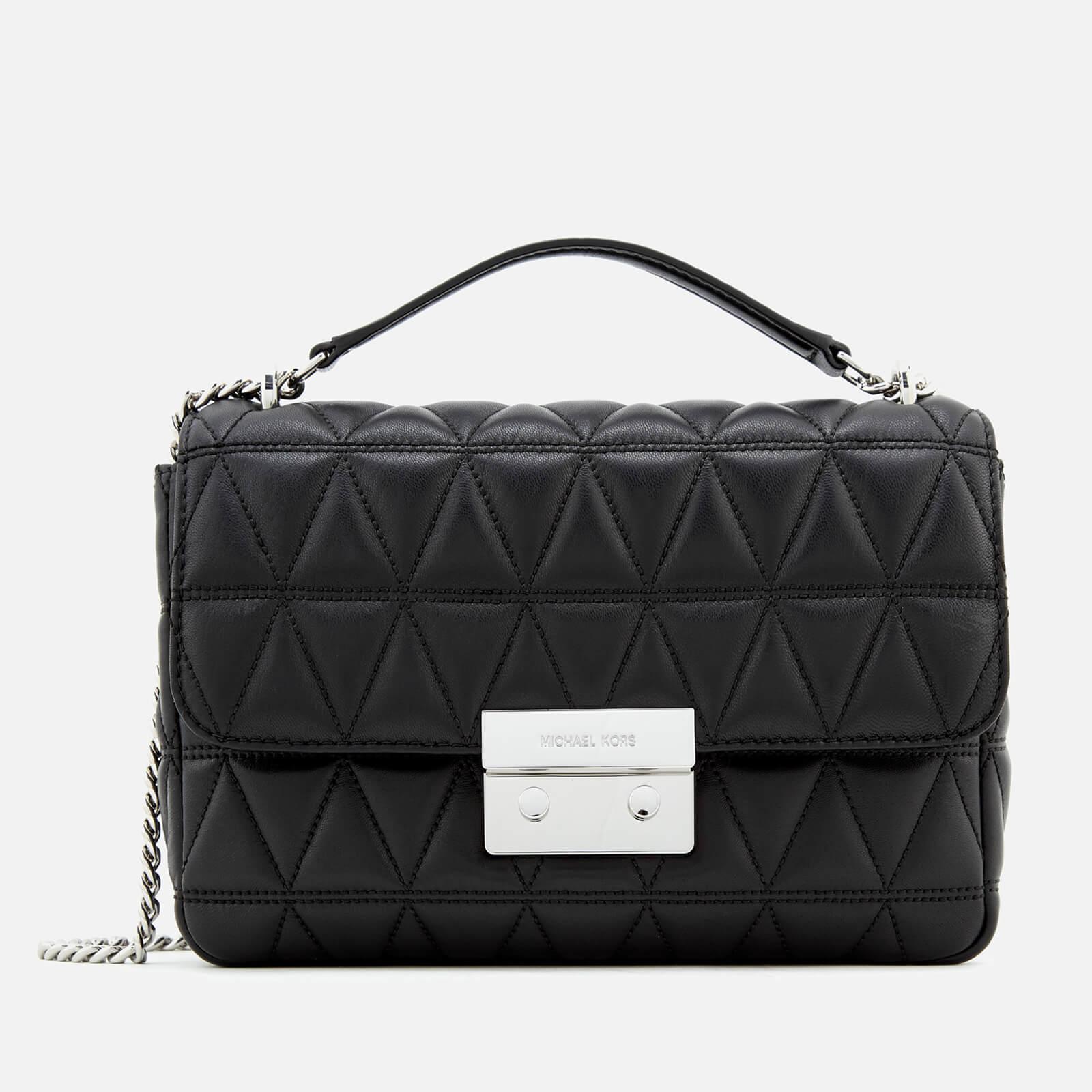 7c8080e5b5bf MICHAEL MICHAEL KORS Women's Sloan Large Chain Shoulder Bag - Black - Free  UK Delivery over £50