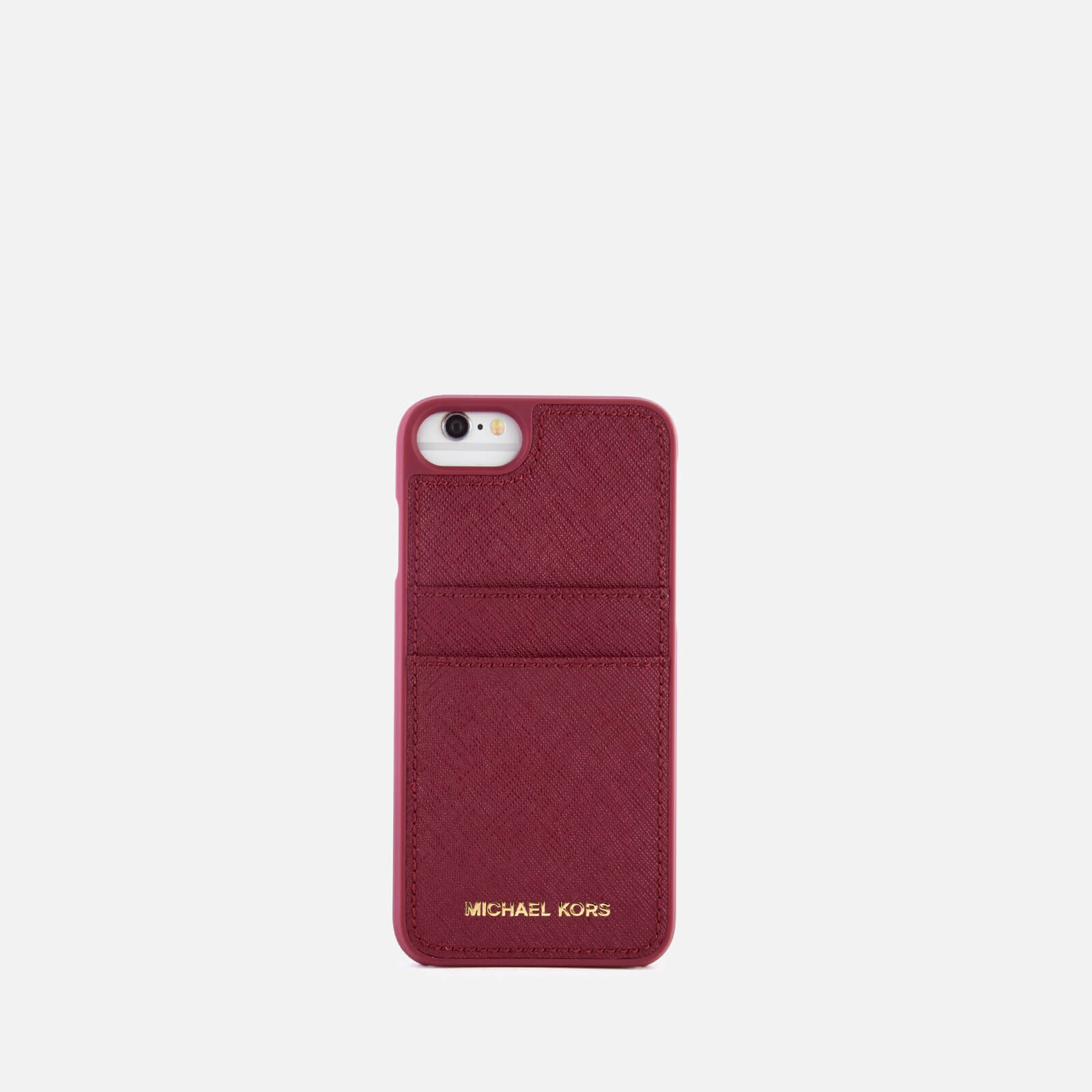c69e292c09c1 MICHAEL MICHAEL KORS Women s Leather iPhone 7 Cover - Mulberry Electronics
