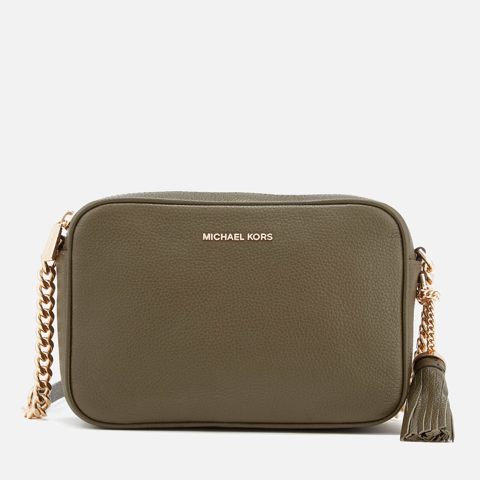 7f2adf353c6c MICHAEL MICHAEL KORS Women's Ginny Medium Camera Bag - Olive - Free UK  Delivery over £50